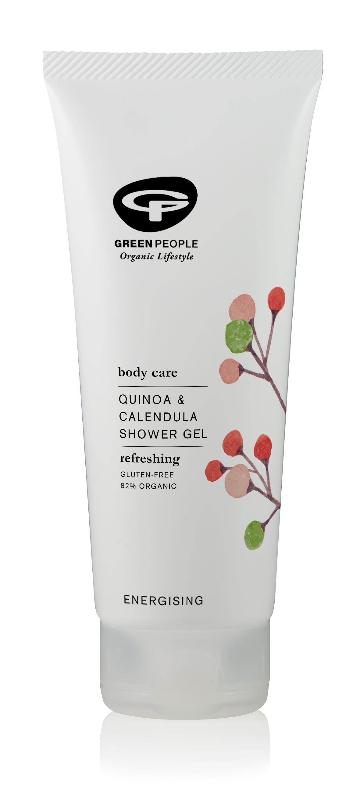 Quinoa & Calendula Shower Gel 200ml