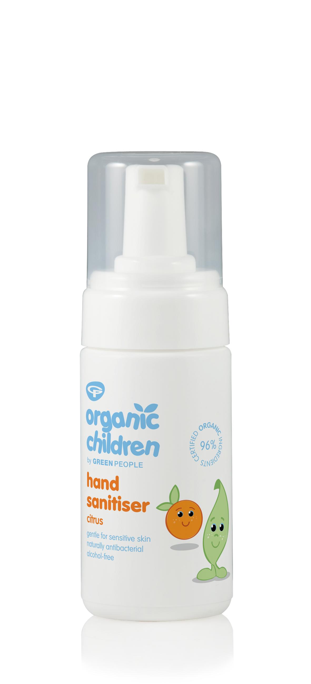 Organic Children Sticky Hand Sanitiser Citrus 100ml
