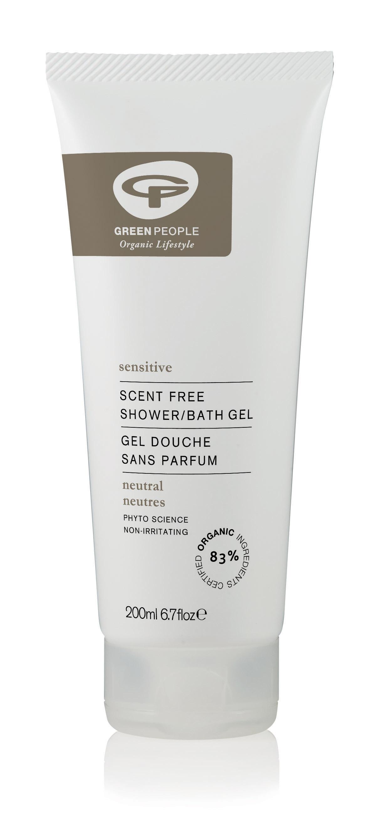 Scent Free Shower/ Bath Gel 200ml