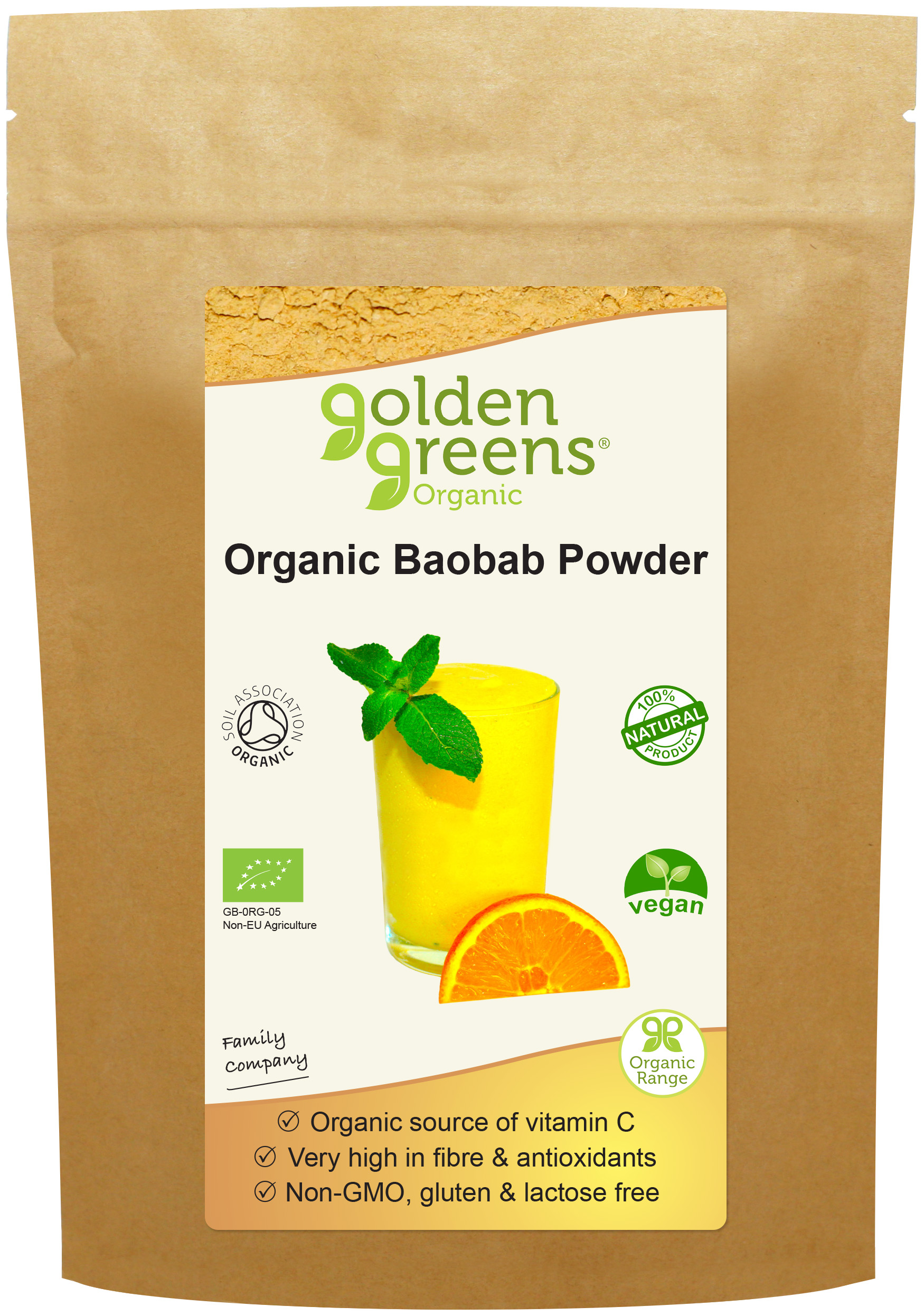 Organic Baobab Powder 100g