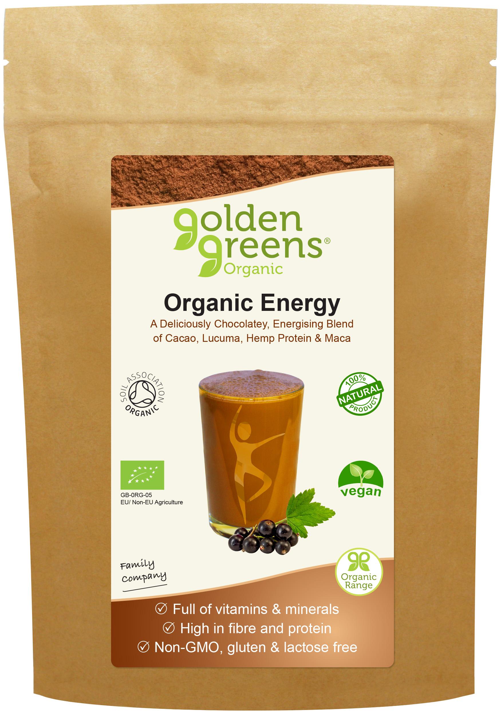 Organic Energy 100g