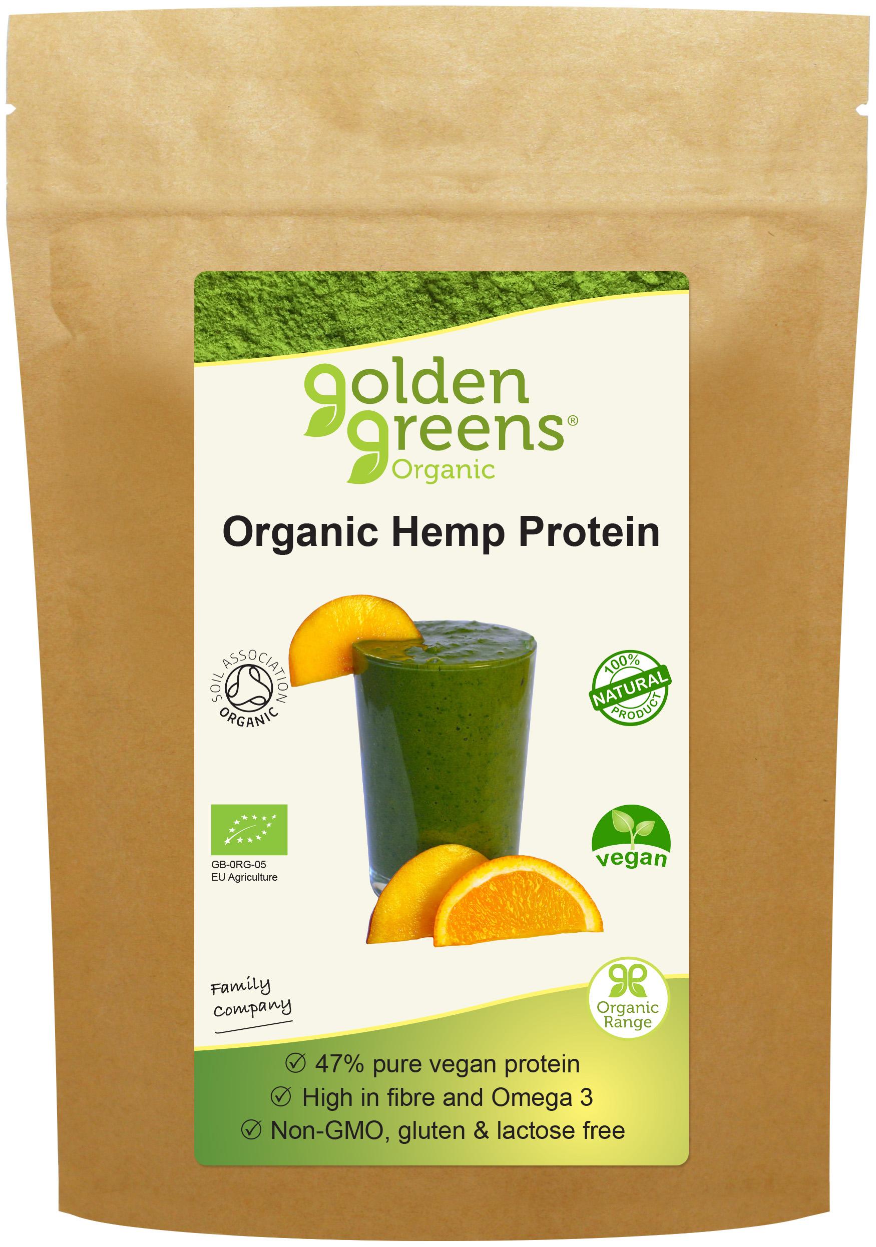 Organic Hemp Protein 250g