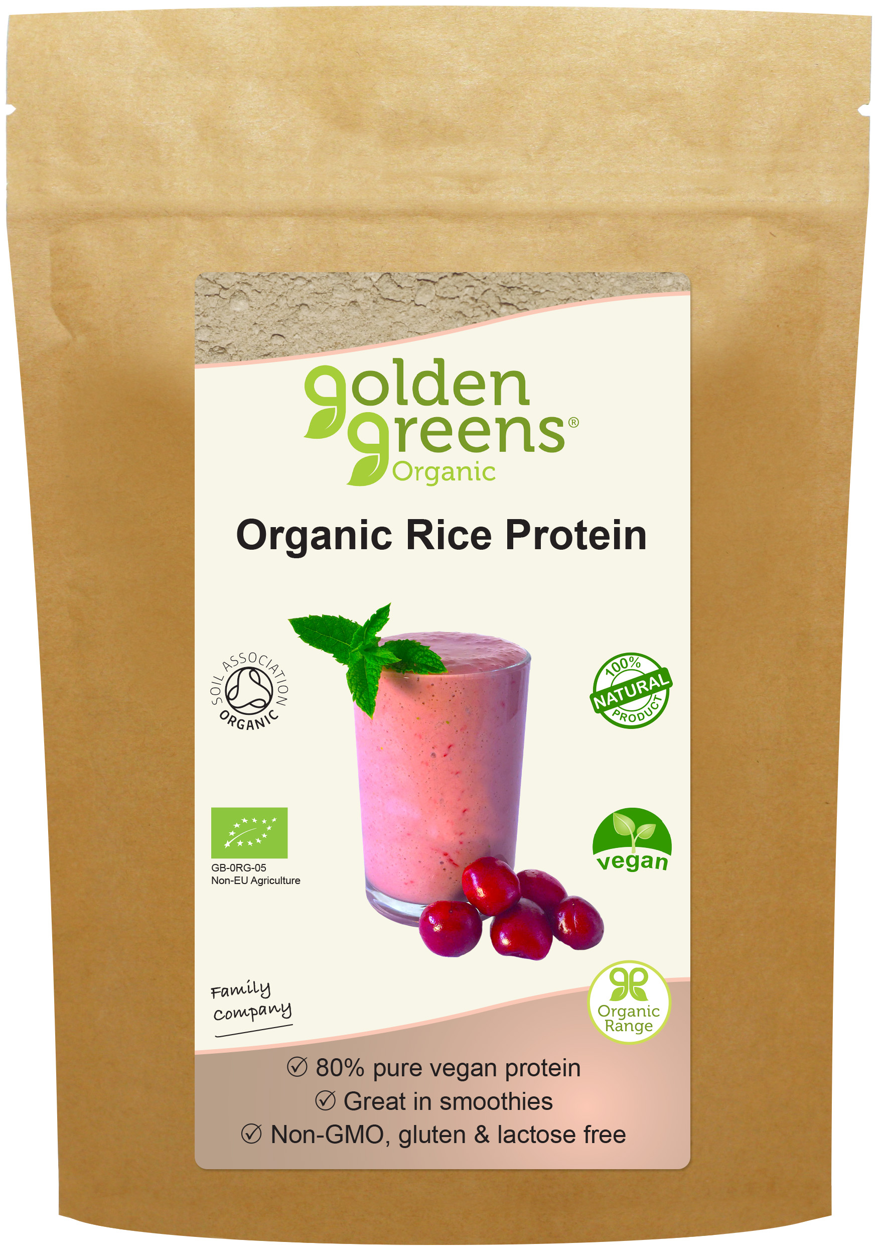 Organic Rice Protein 250g