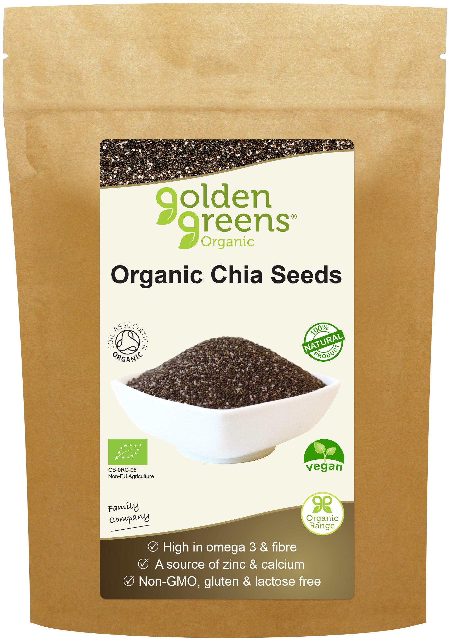 Organic Chia Seeds 250g