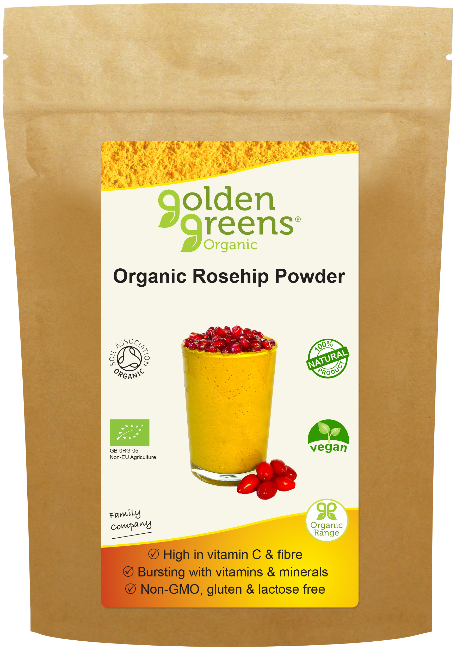 Organic Rosehip Powder 200g (Currently Unavailable)
