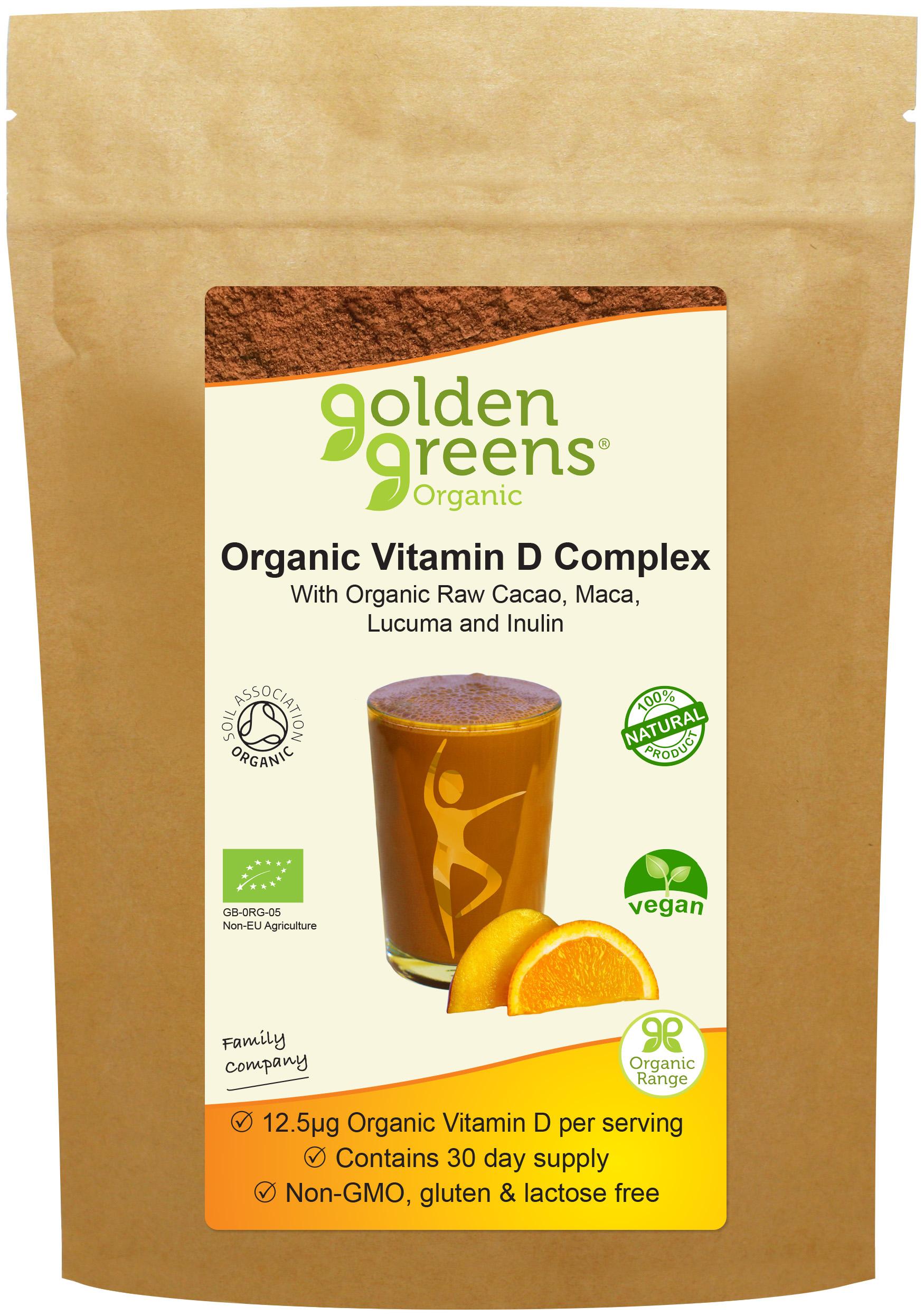 Organic Vitamin D Complex 150g