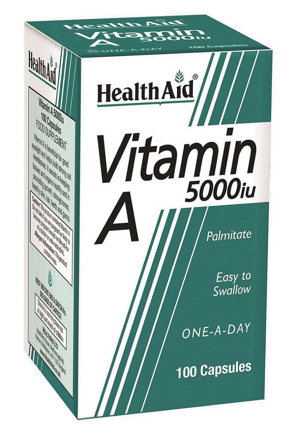 Vitamin A 5000iu  100's