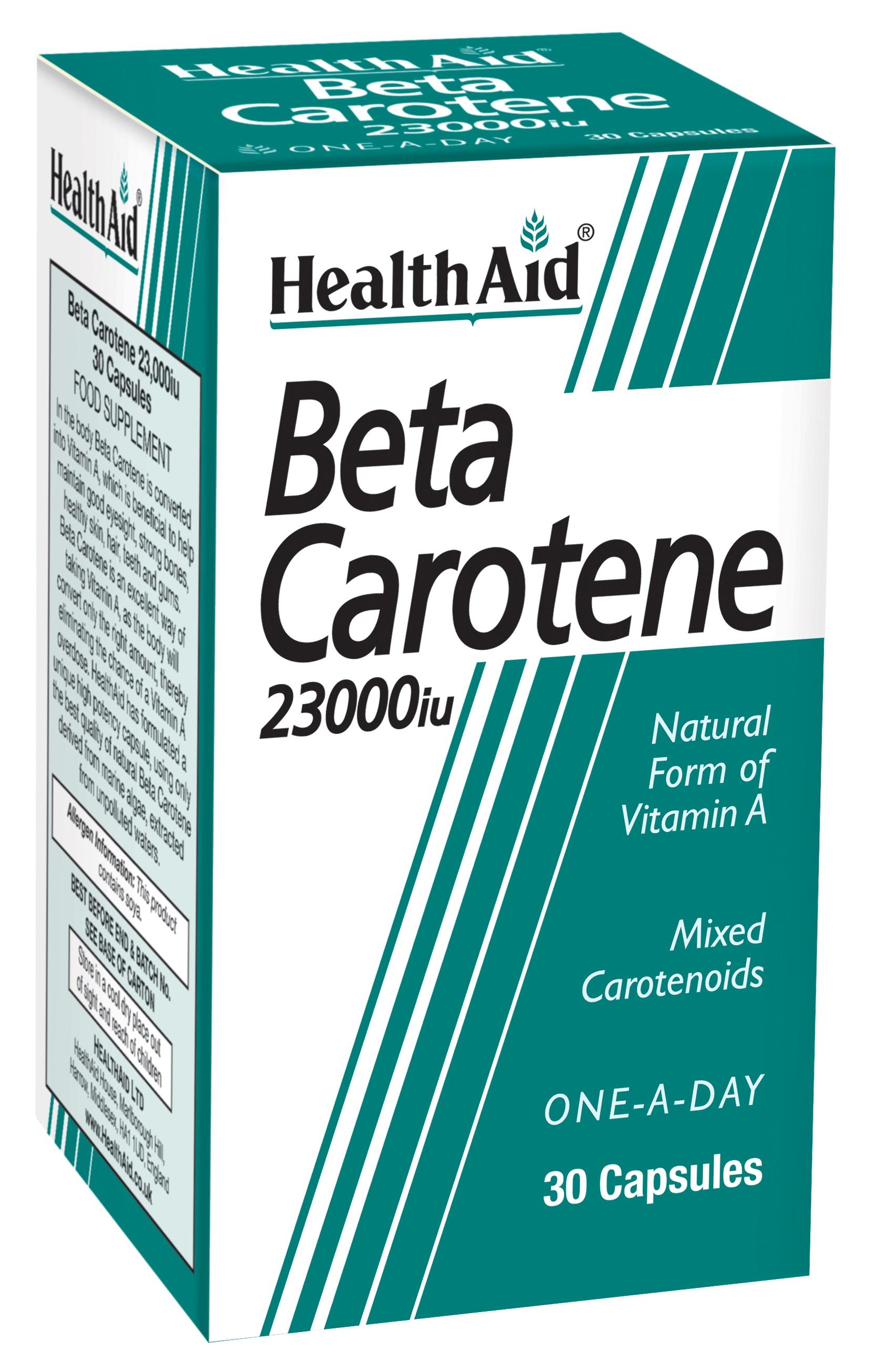 Beta-Carotene 23,000iu 30's
