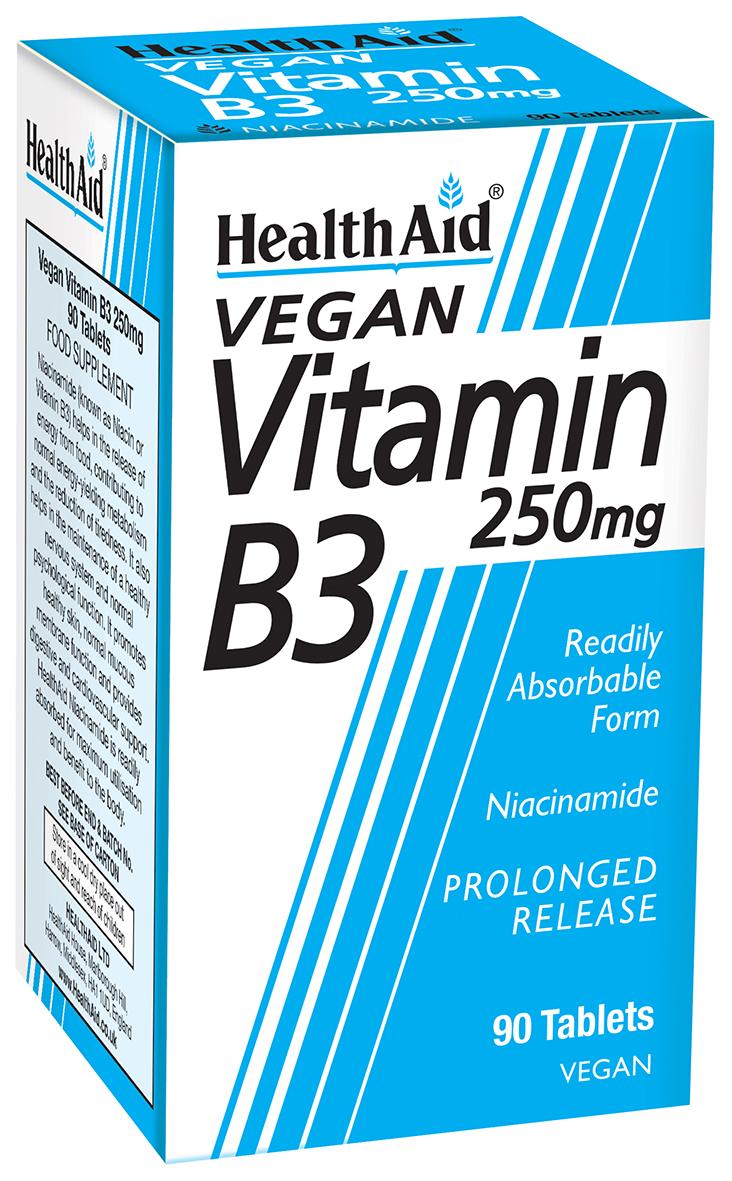 Vegan Vitamin B3 250mg 90's