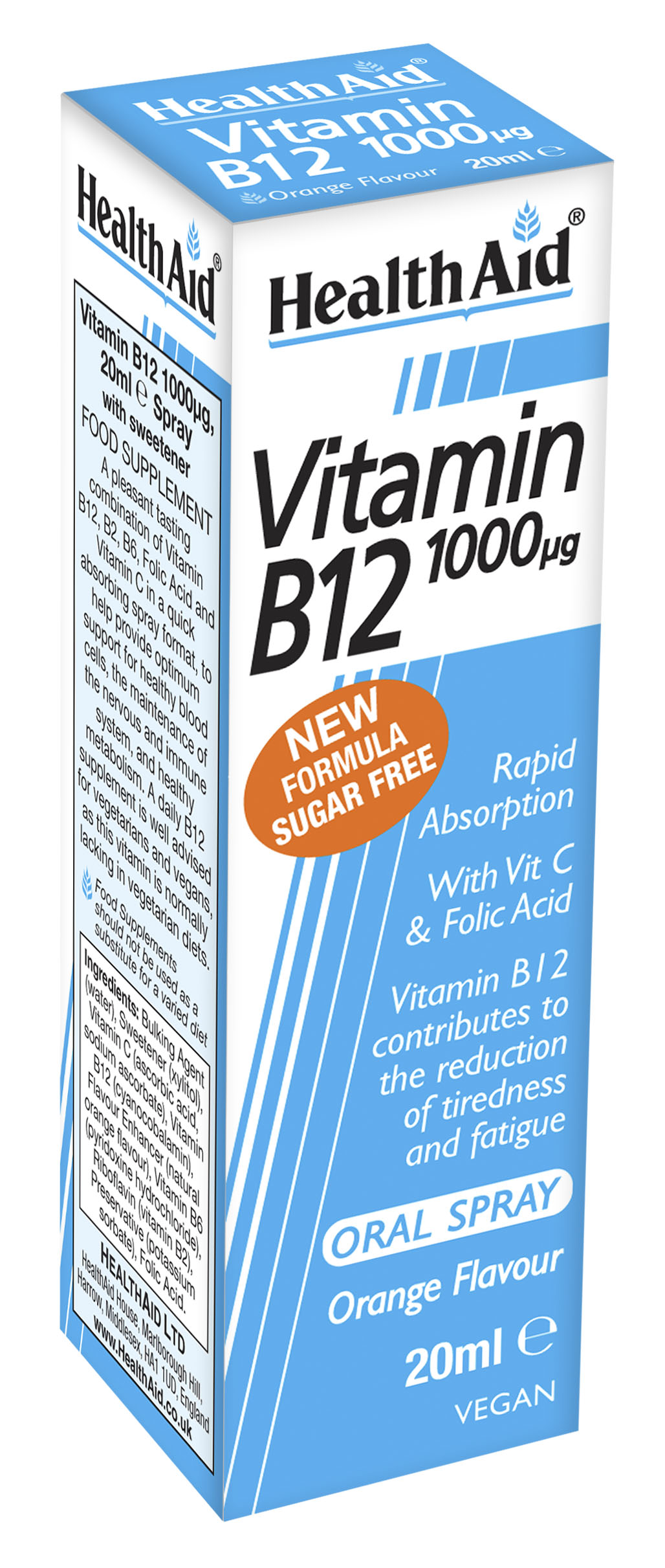 Vitamin B12 1000ug Oral Spray 20ml