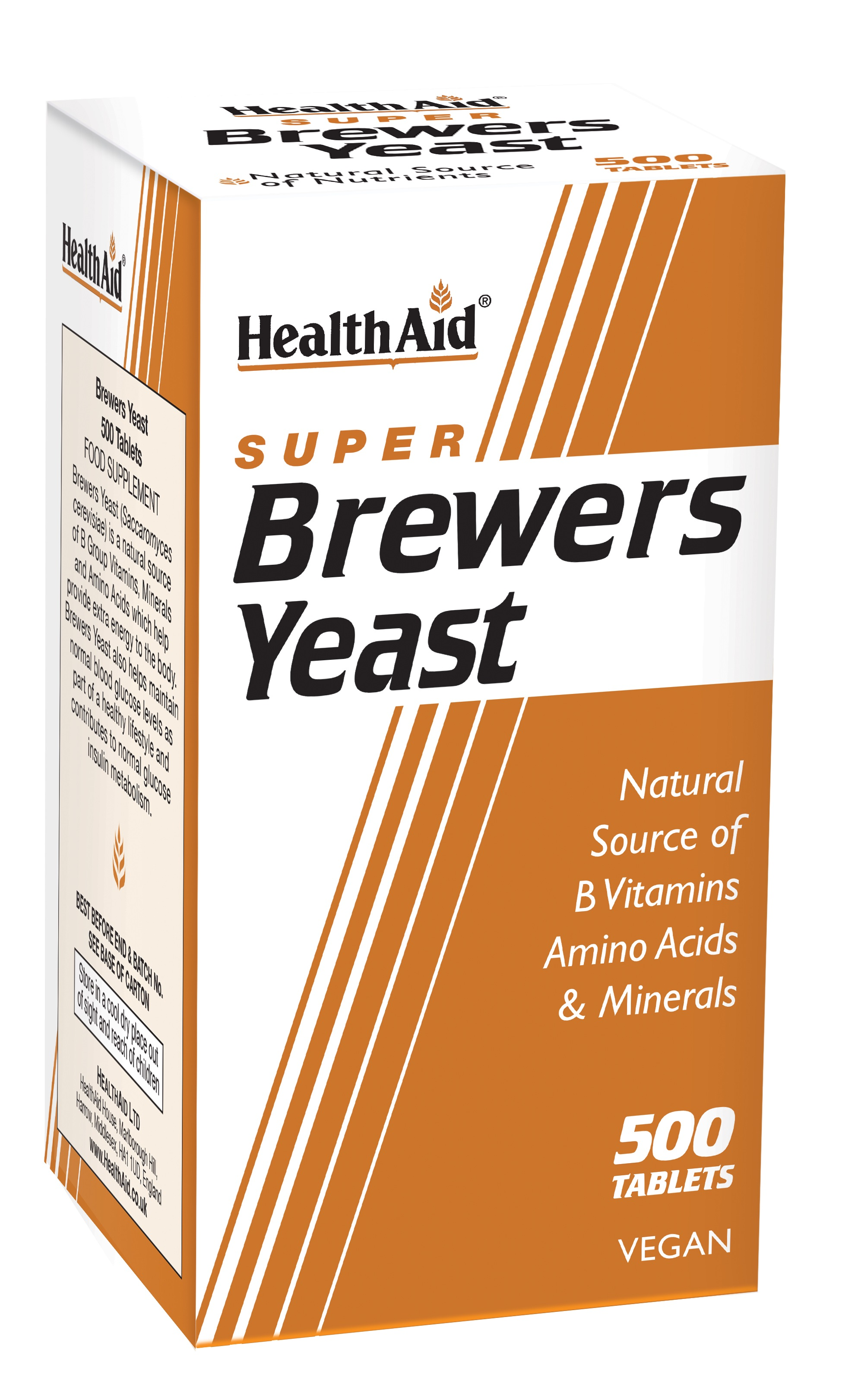 Super Brewers Yeast 500's