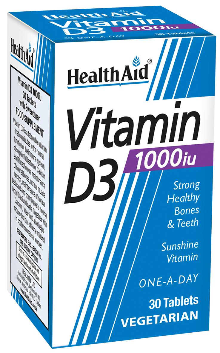 Vitamin D3 1000iu 30's