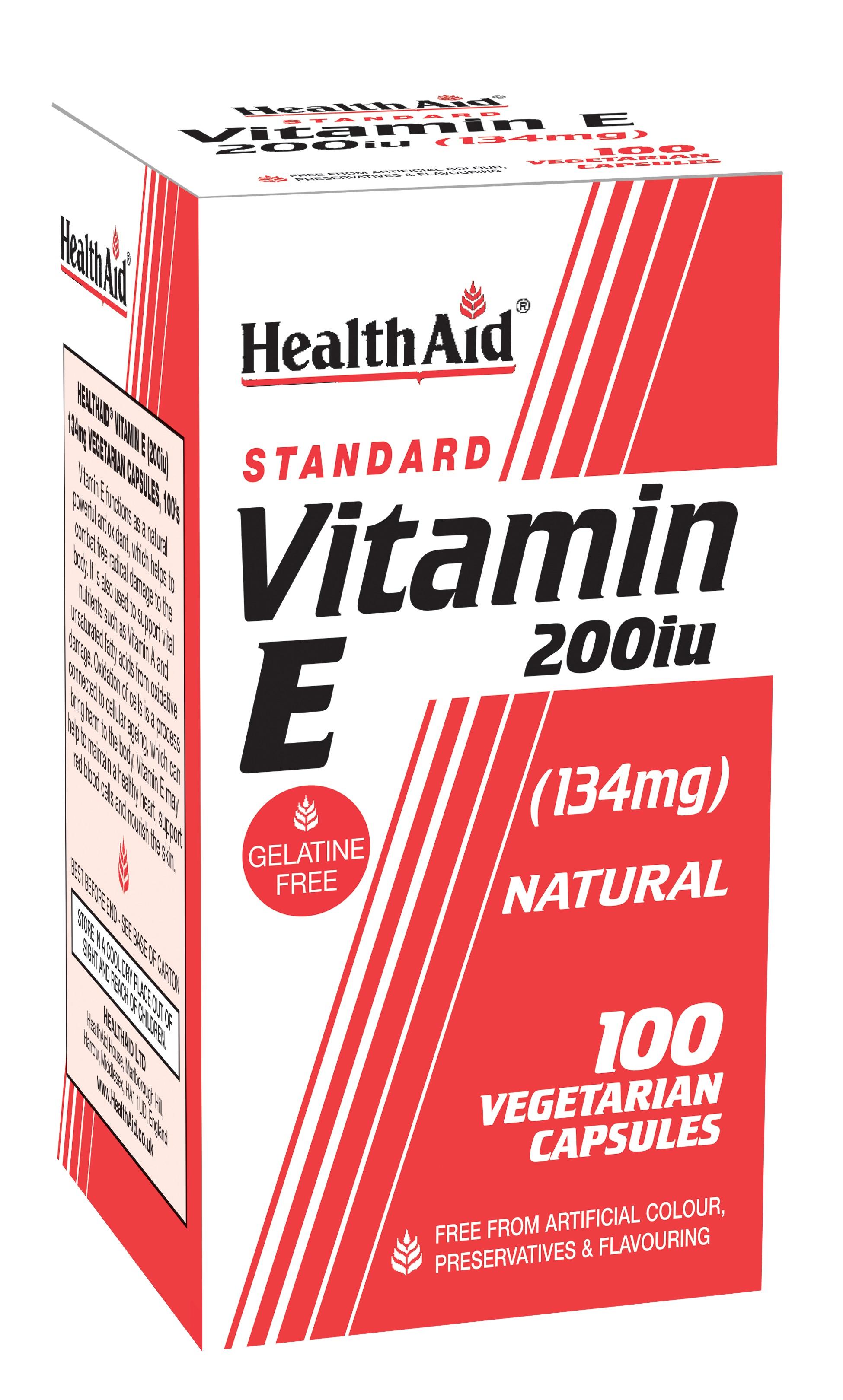 Standard Vitamin E 200iu 100's