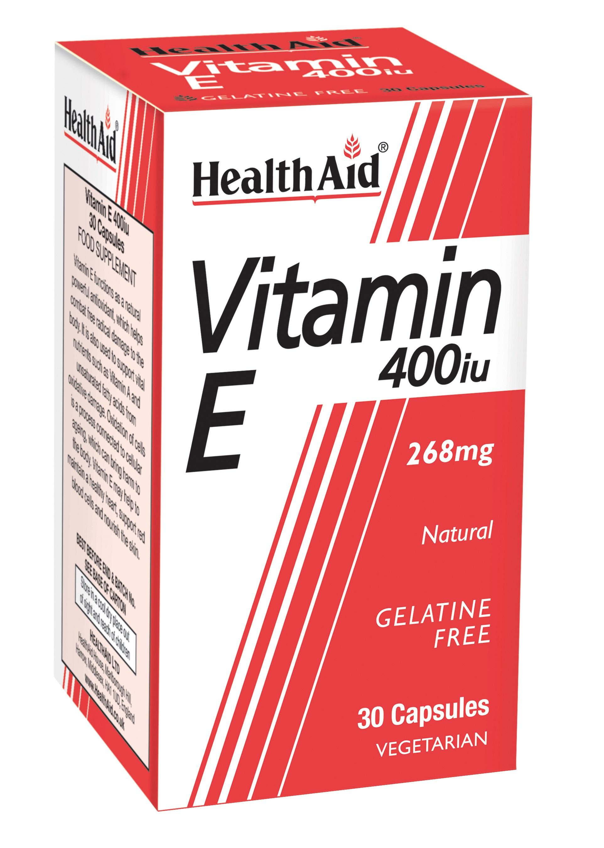 Vitamin E 400iu 30's