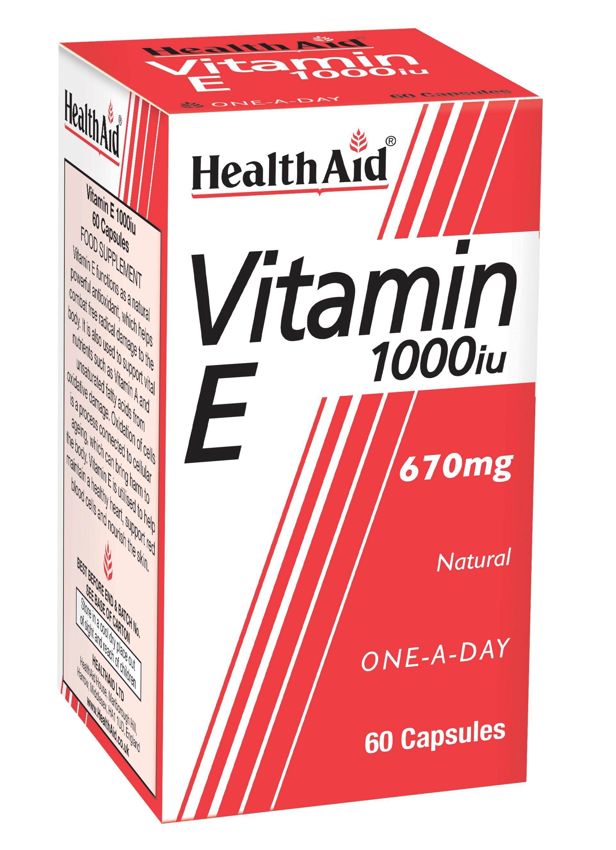 Vitamin E 1000iu 60's