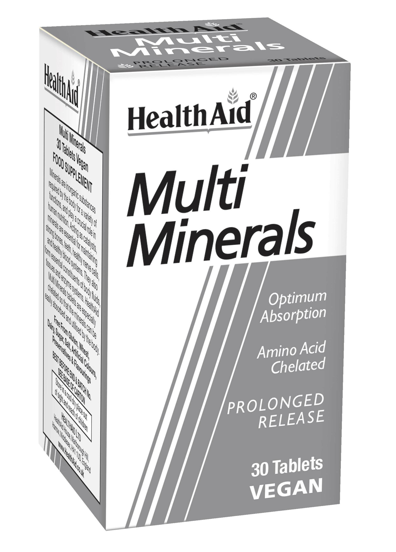 Multi Minerals Prolonged Release 30's