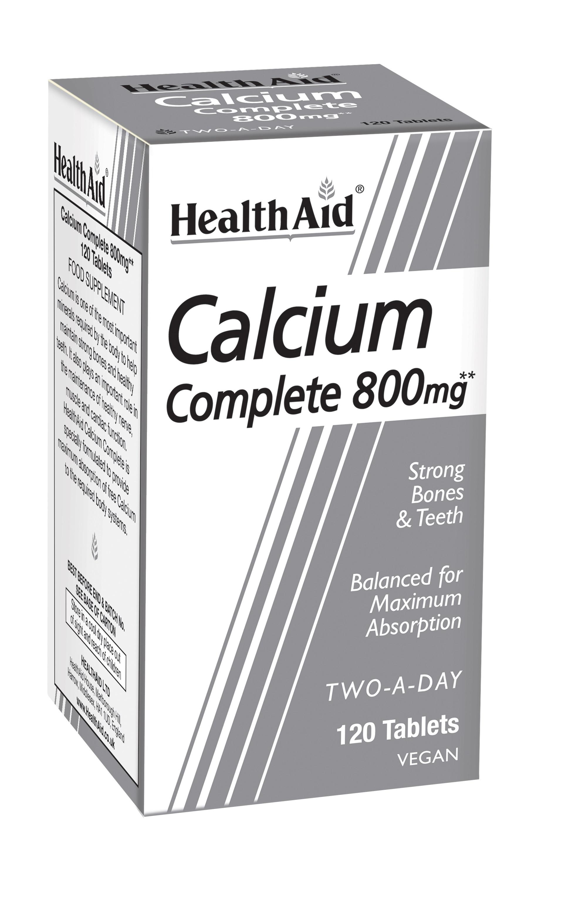 Calcium Complete 800mg 120's