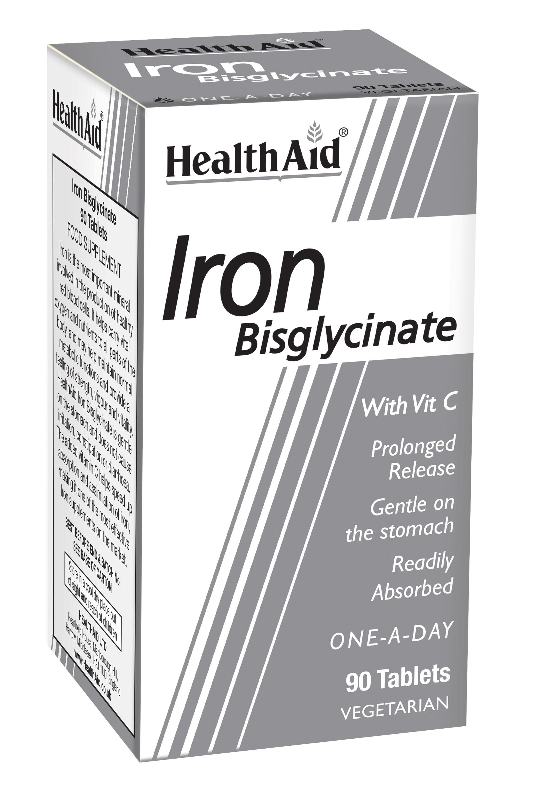 Iron Bisglycinate  90's
