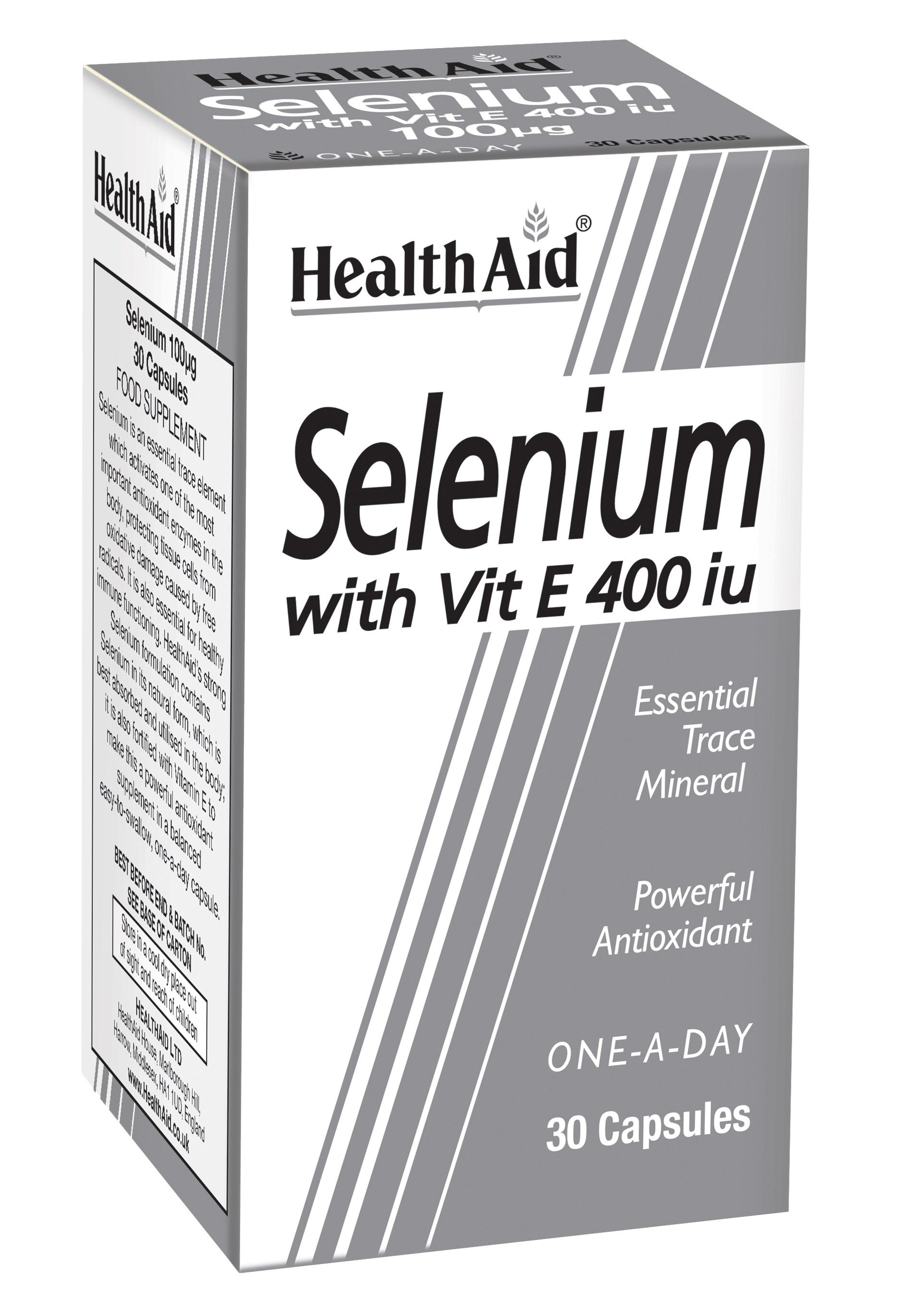 Selenium with Vitamin E 400iu 30's