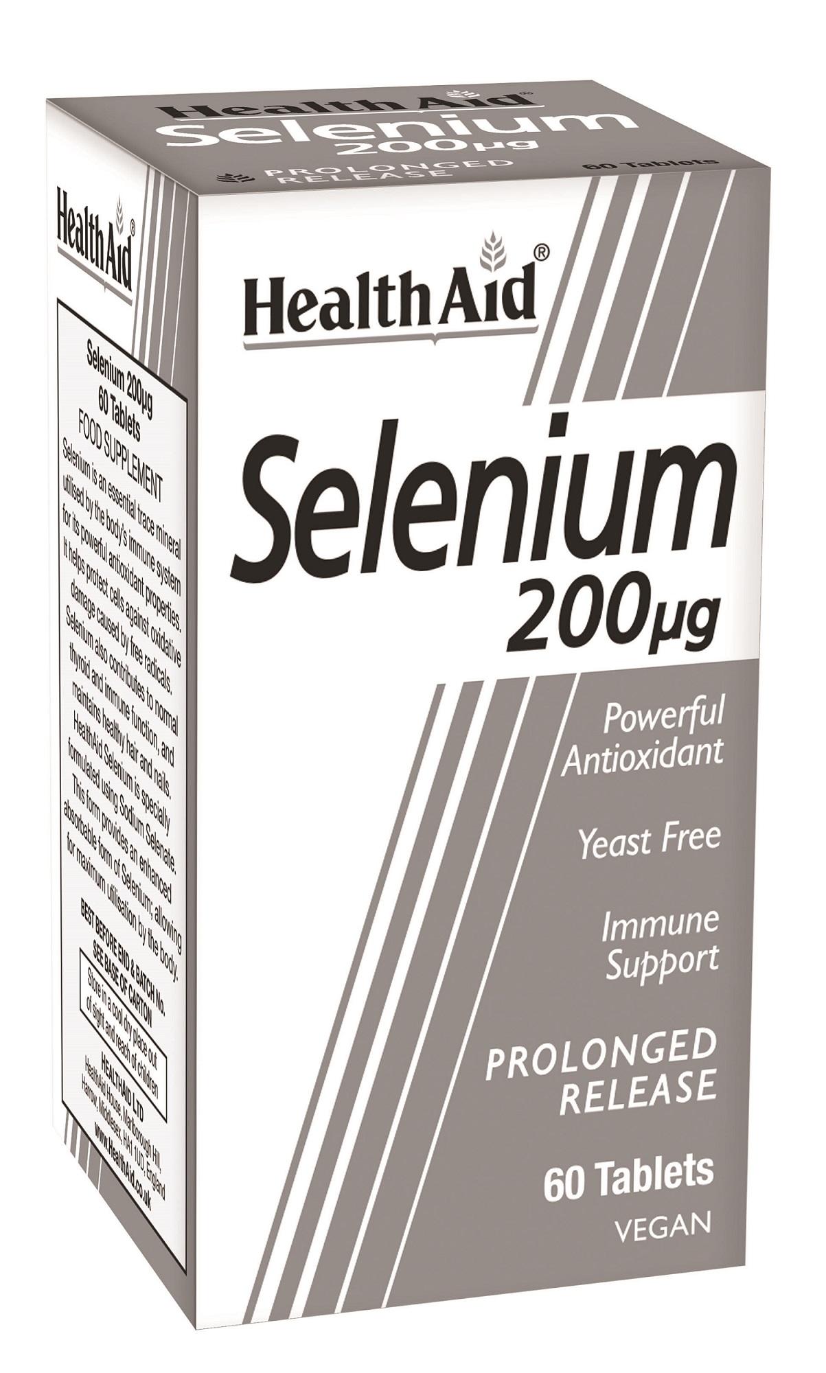 Selenium 200ug Prolonged Release 60's