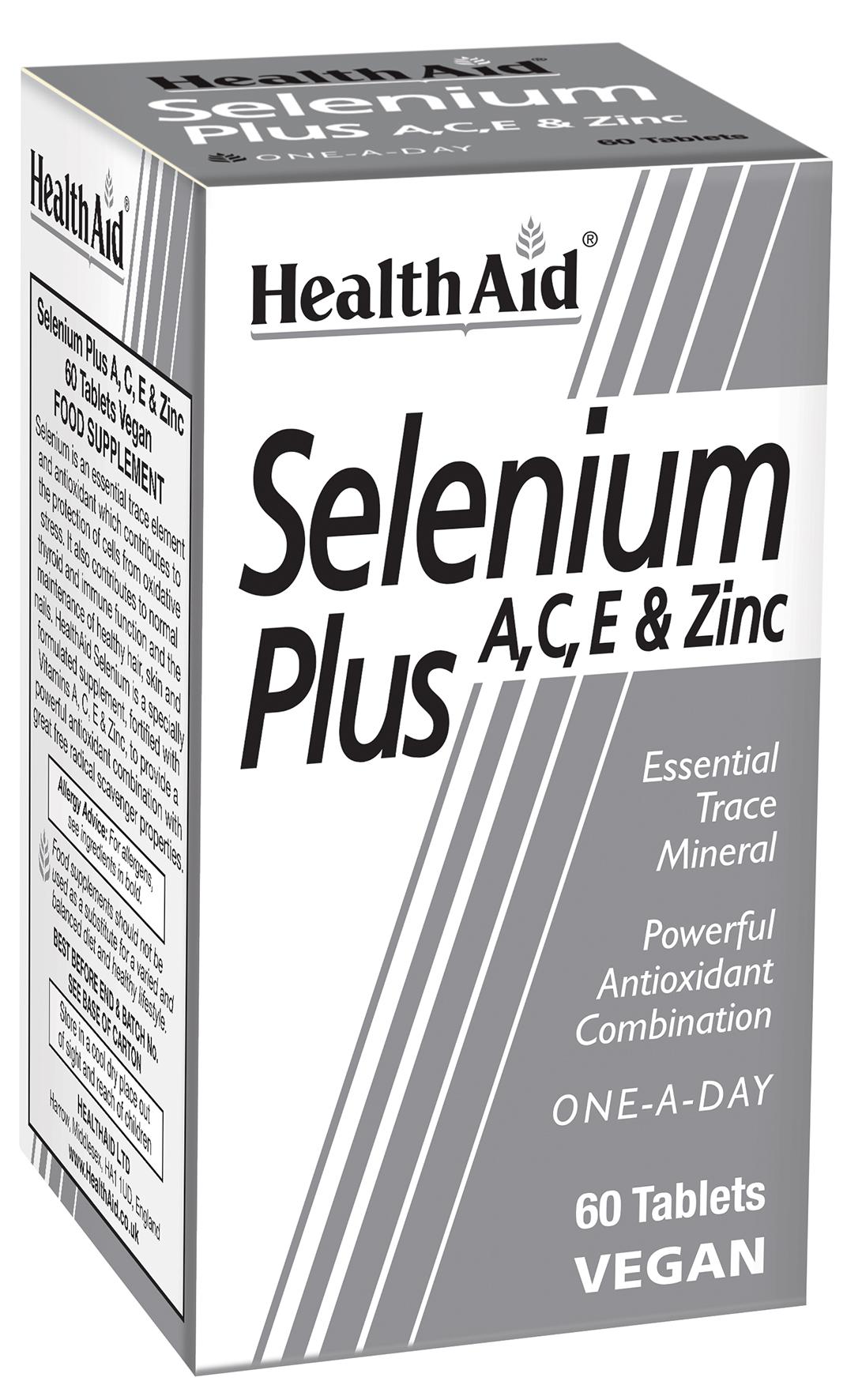 Selenium Plus A, C, E + Zinc 60's