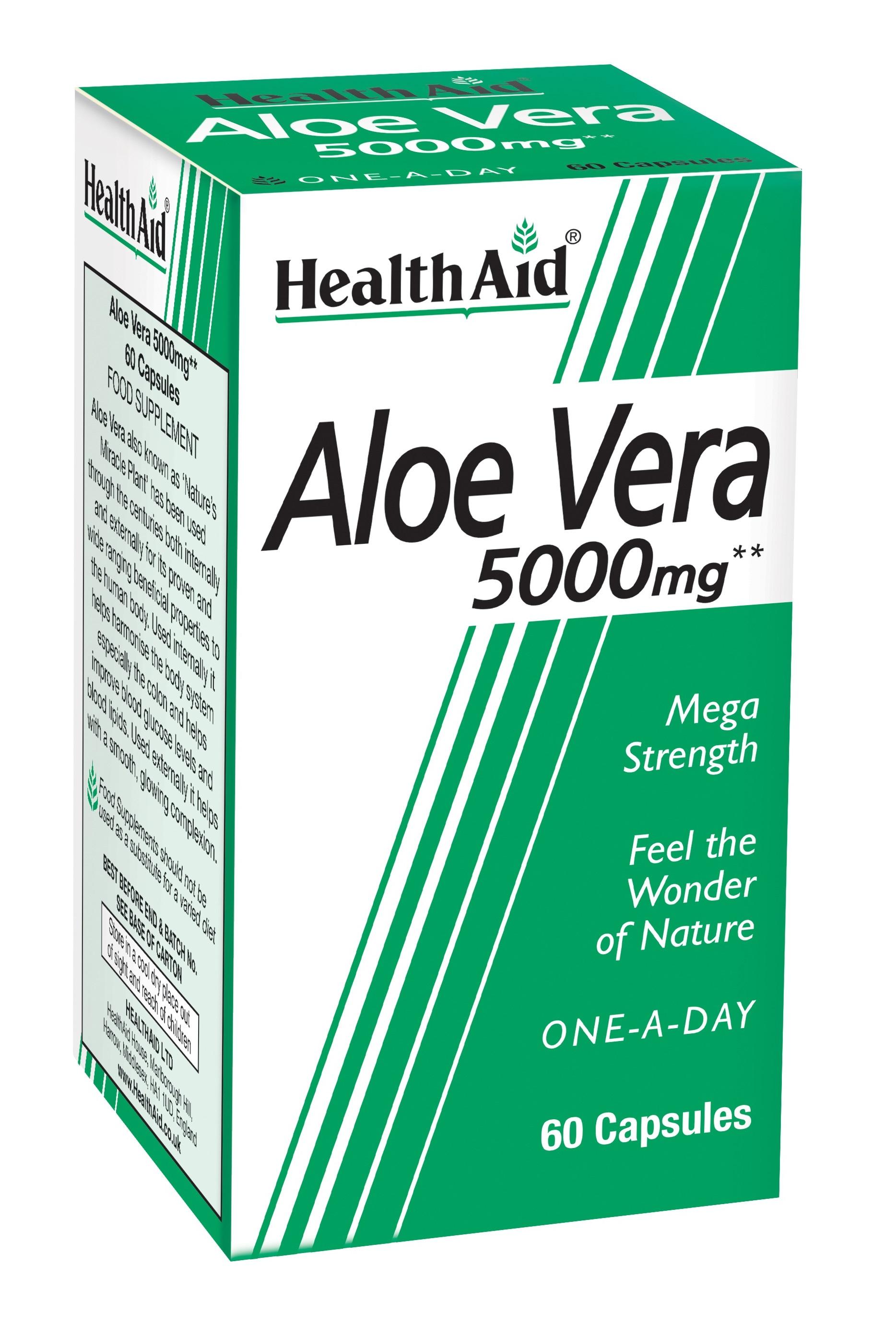 Aloe Vera 5000mg 60's