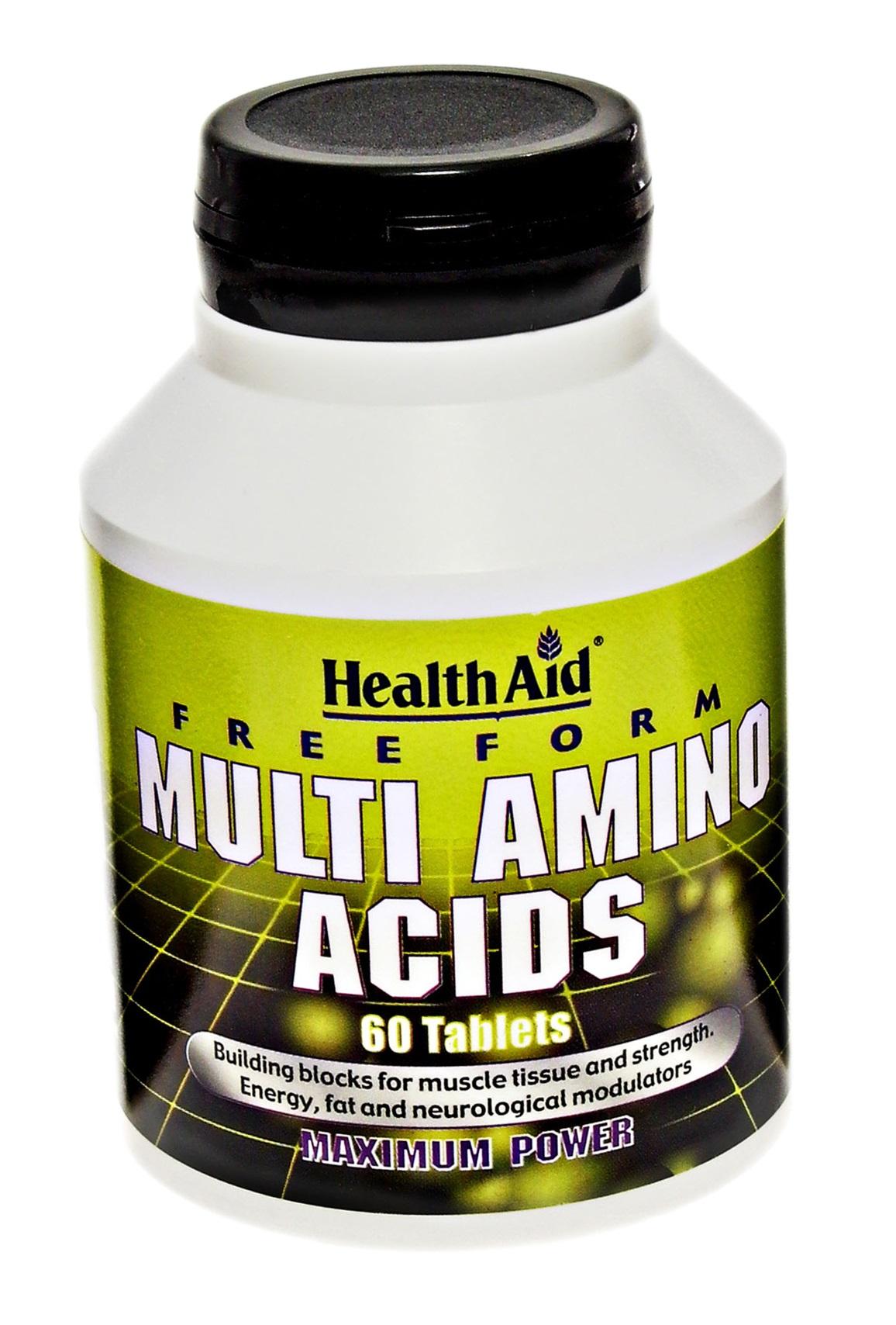 Free Form Multi Amino Acids  60's