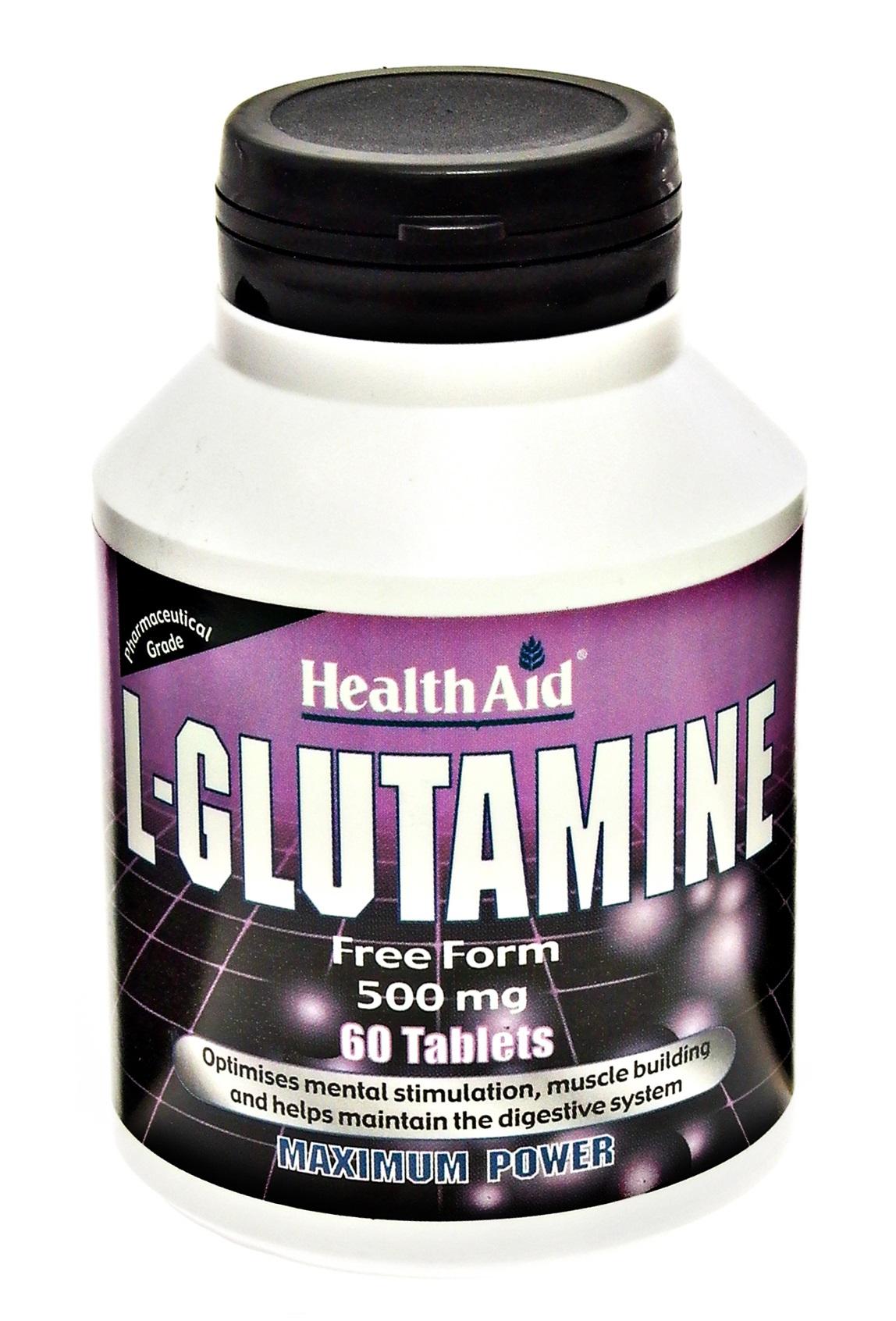 L-Glutamine 500mg  60's