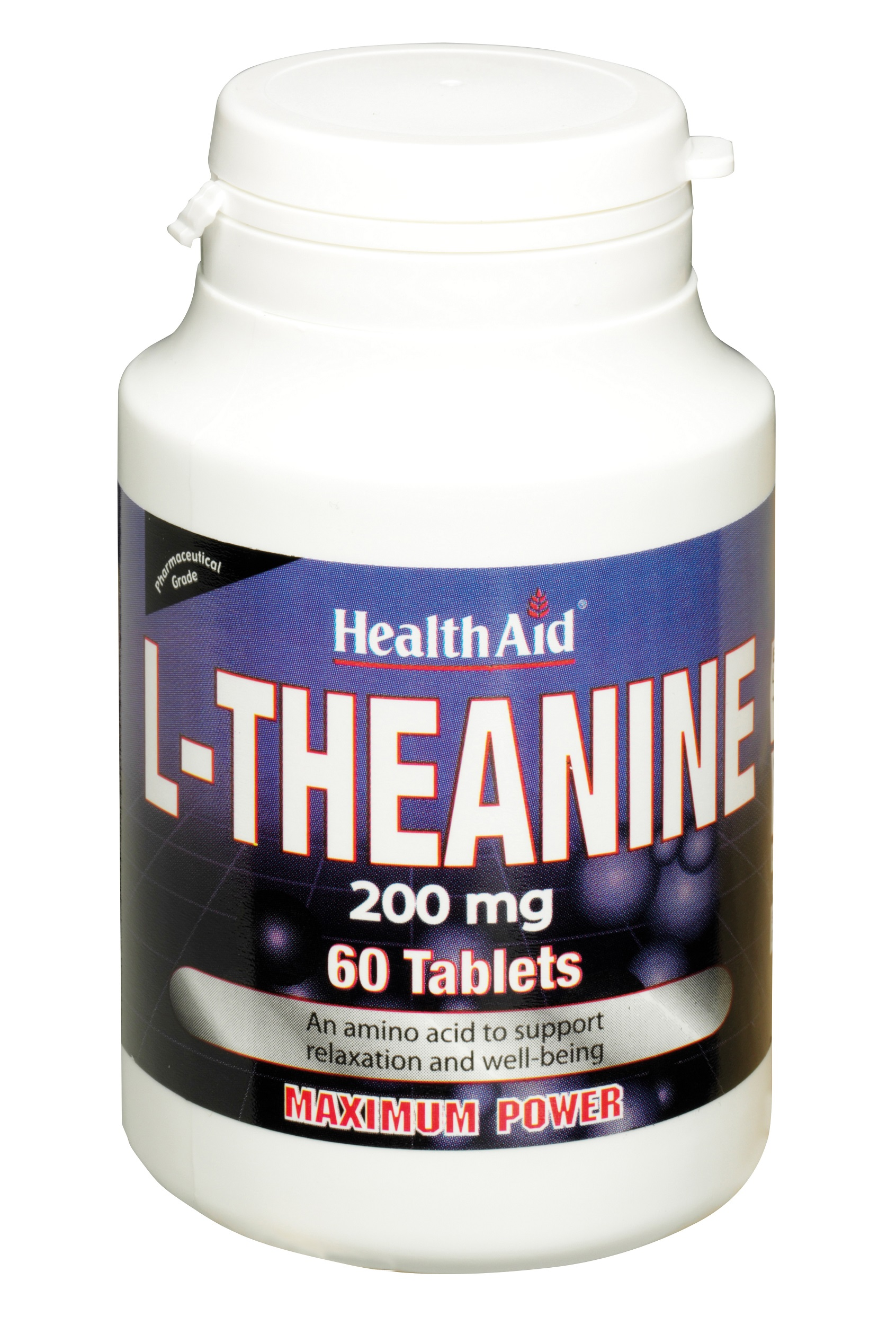 L-Theanine 200mg  60's