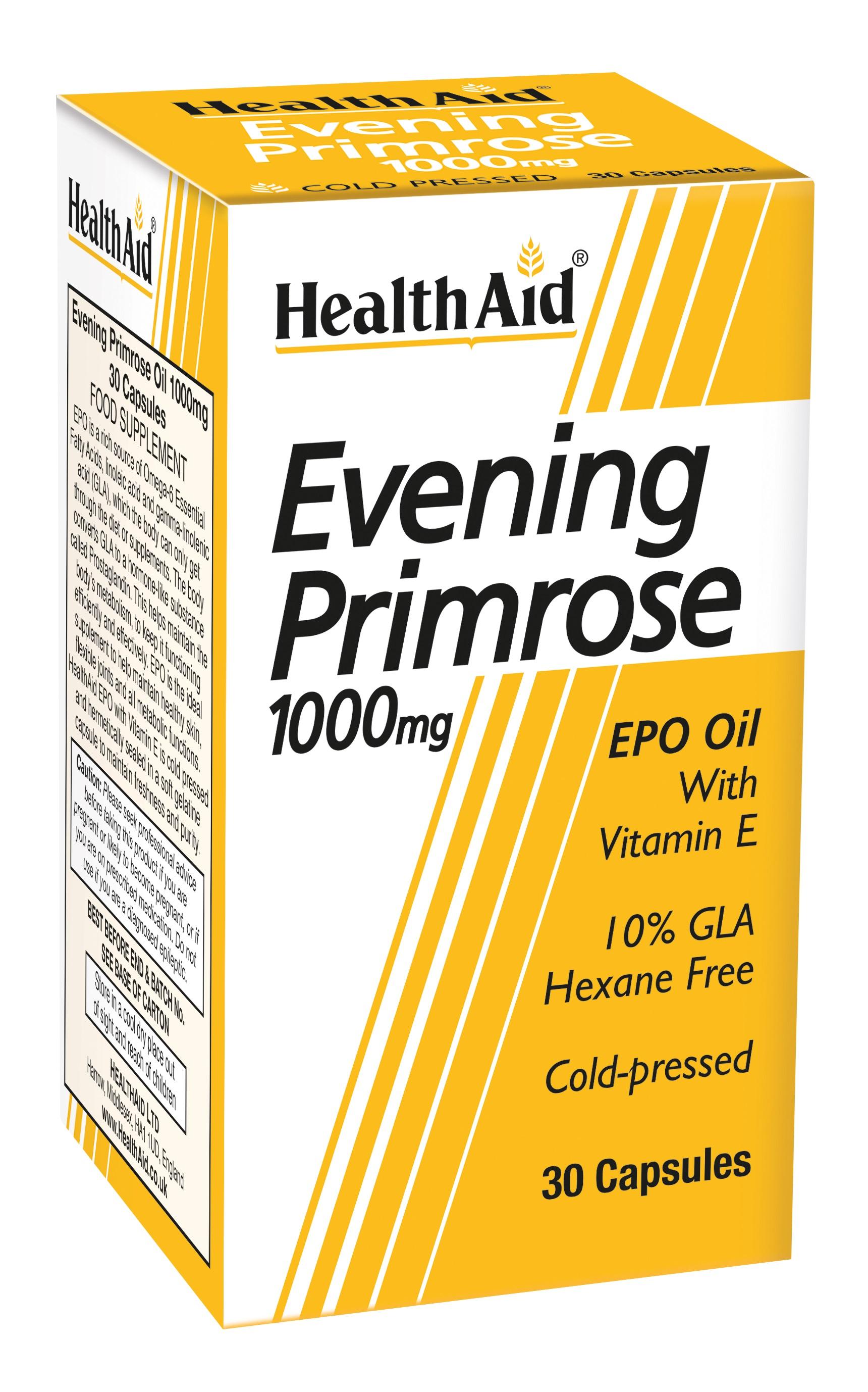 Evening Primrose Oil 1000mg   30's