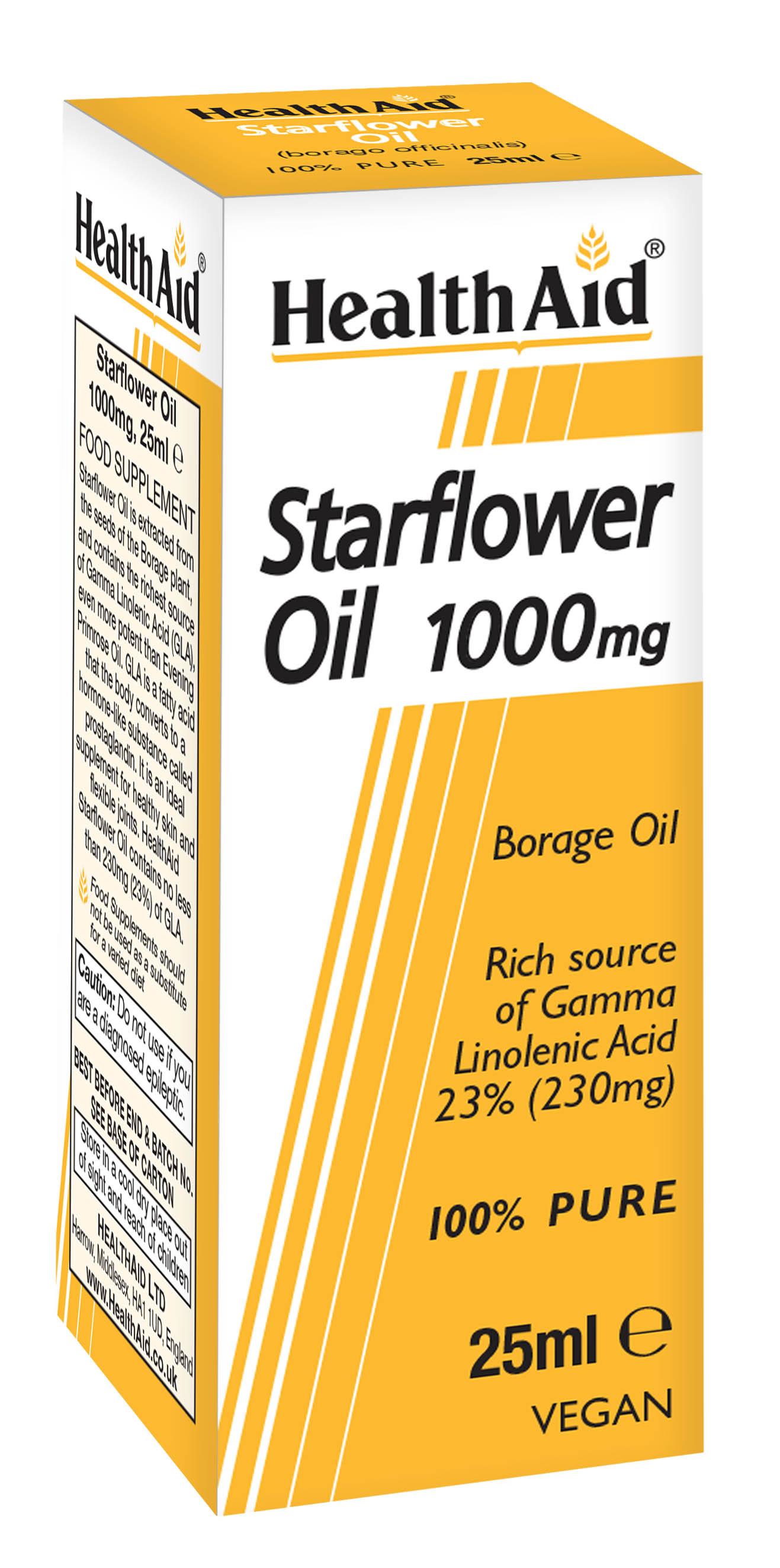 Starflower Oil 1000mg 25ml
