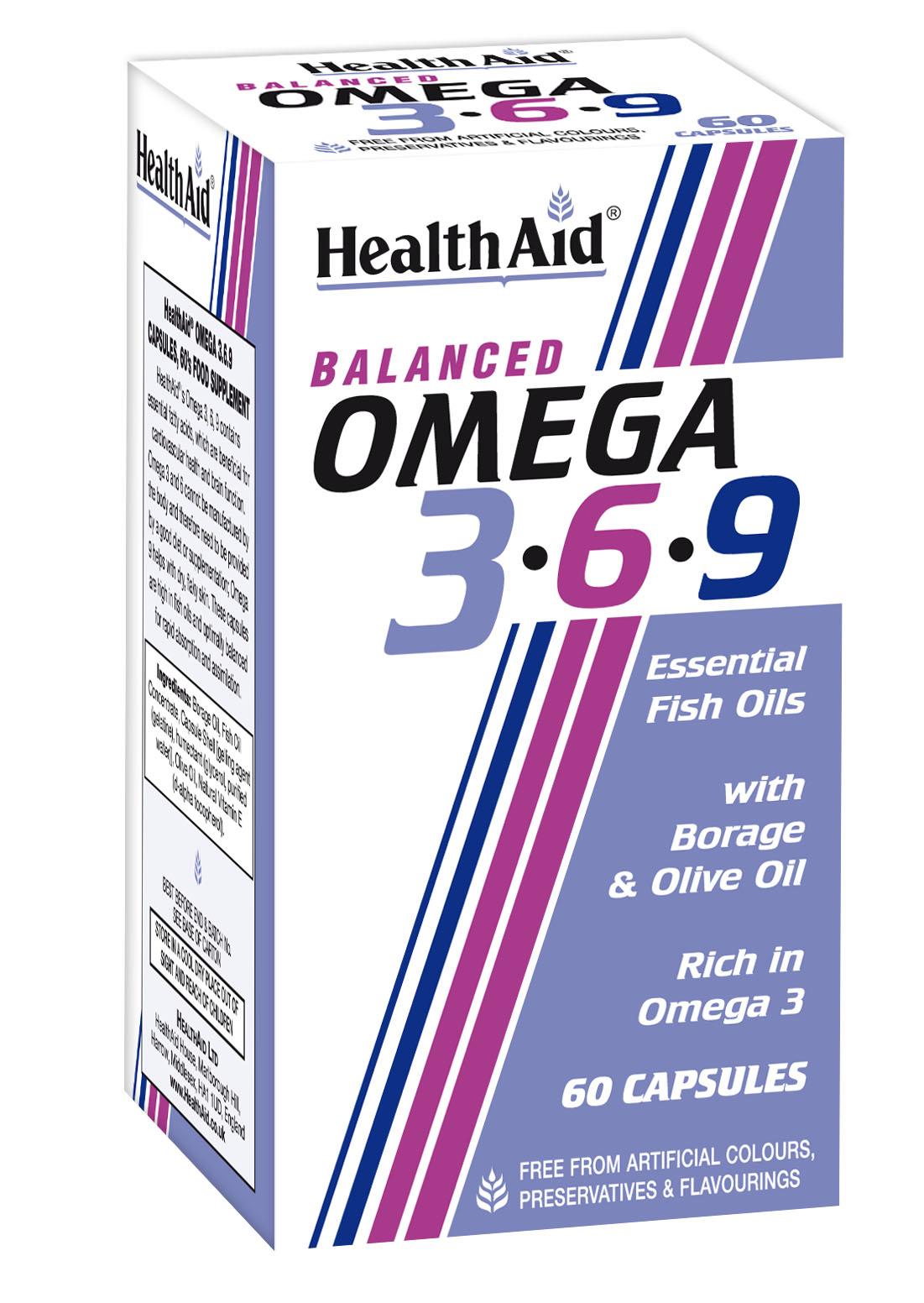 Balanced Omega 3.6.9 60's