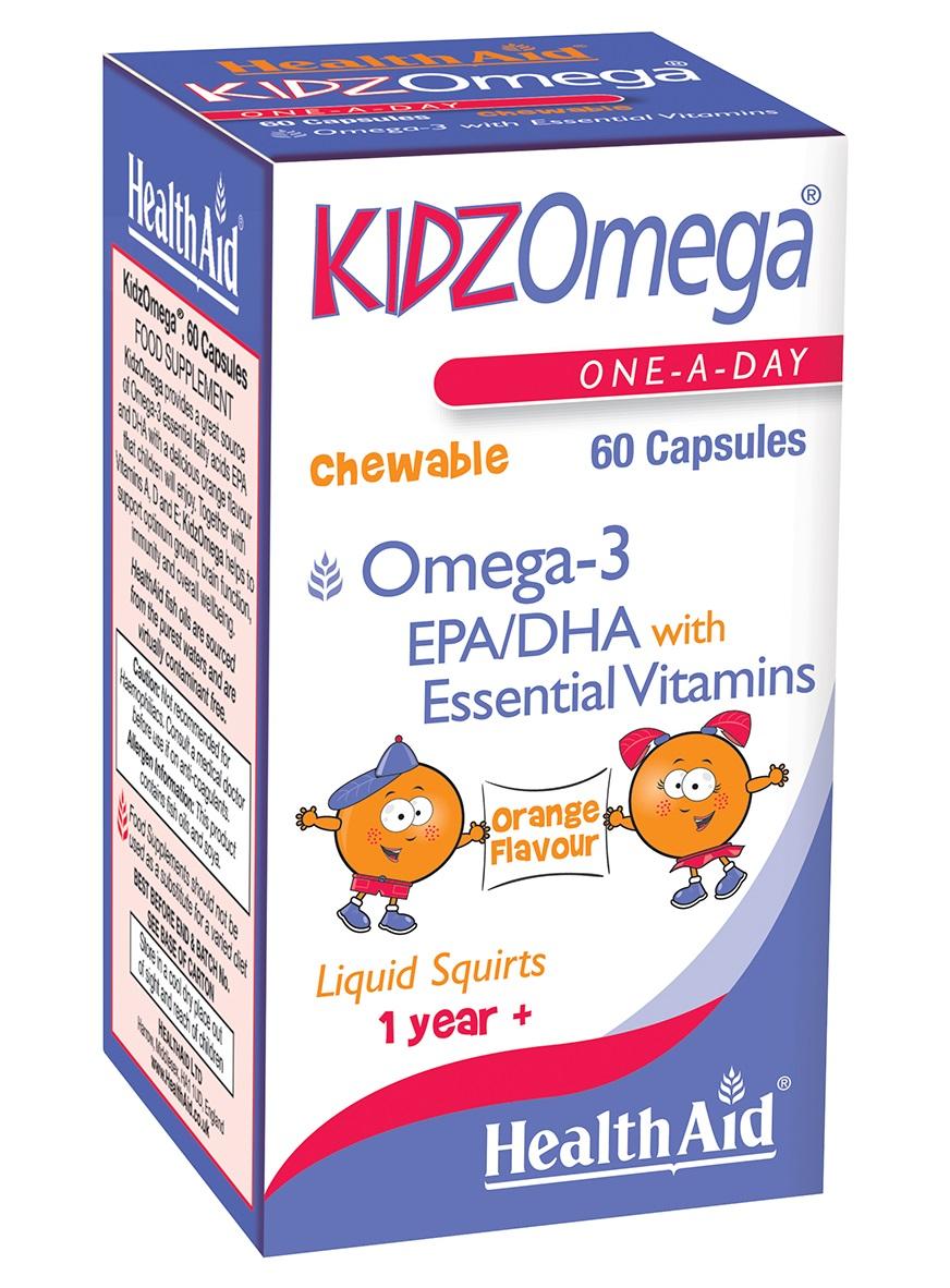 KidzOmega Omega-3 EPA/DHA   60's