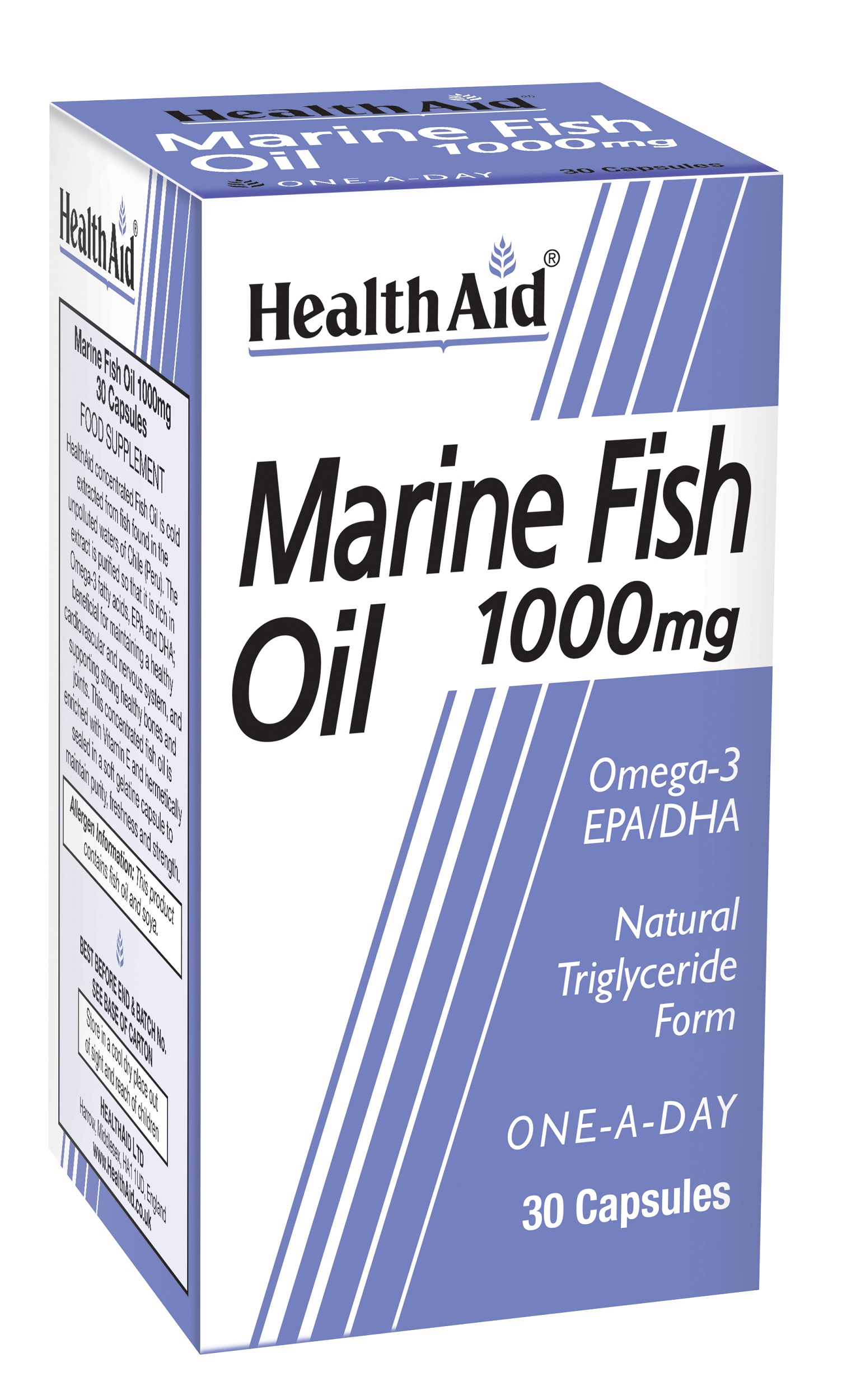 Marine Fish Oil 1000mg  30's