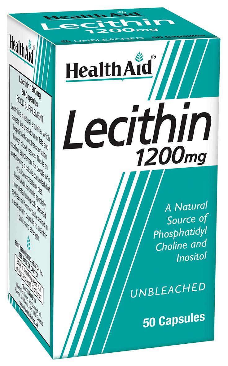 Lecithin 1200mg  50's