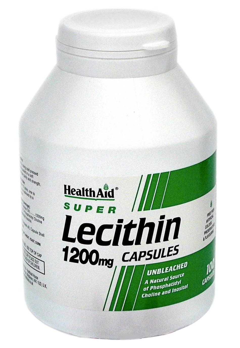 Lecithin 1200mg  100's