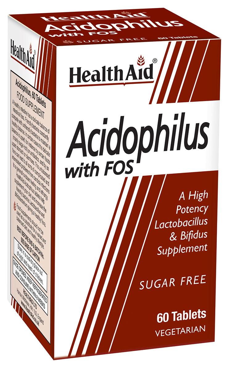 Acidophilus with FOS (Vegetarian) 60's