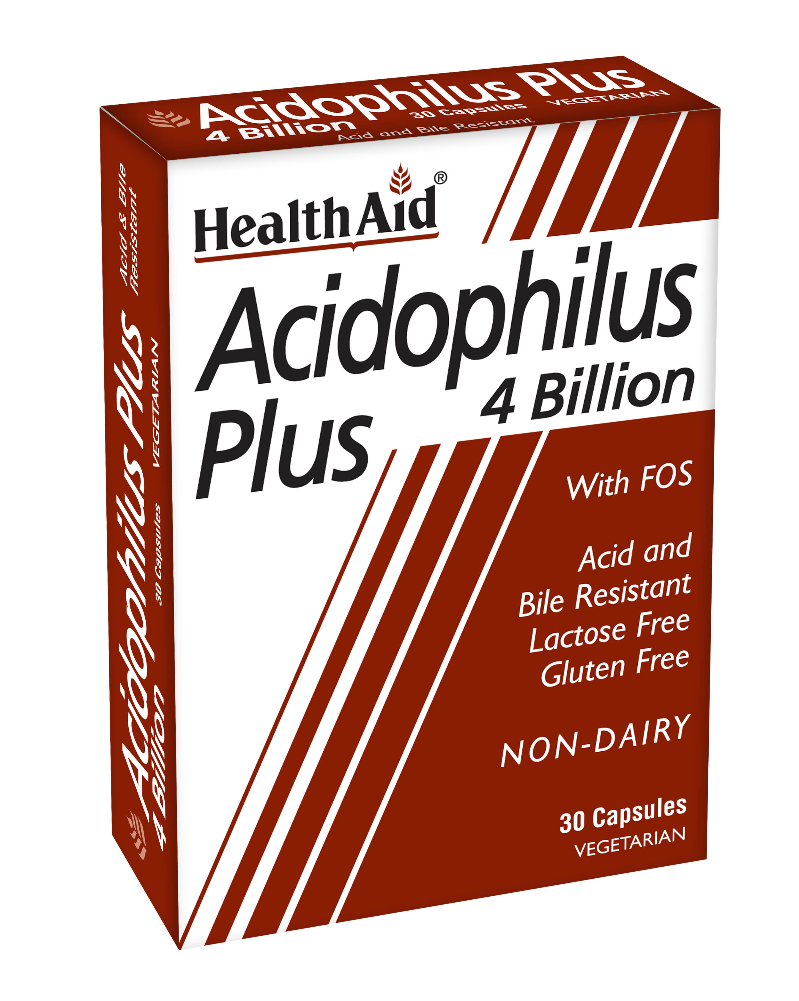 Acidophilus Plus 4 Billion with FOS  30's