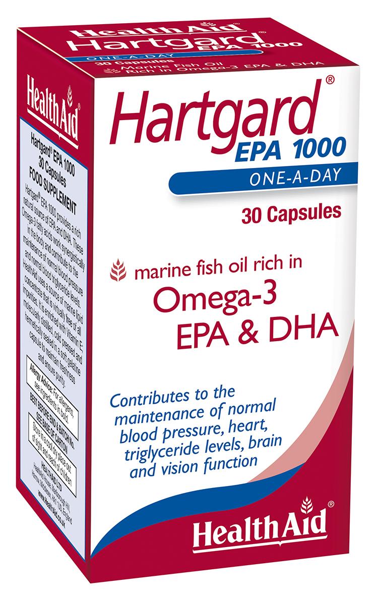 Hartgard EPA 1000 Omega 3 + DHA 30's