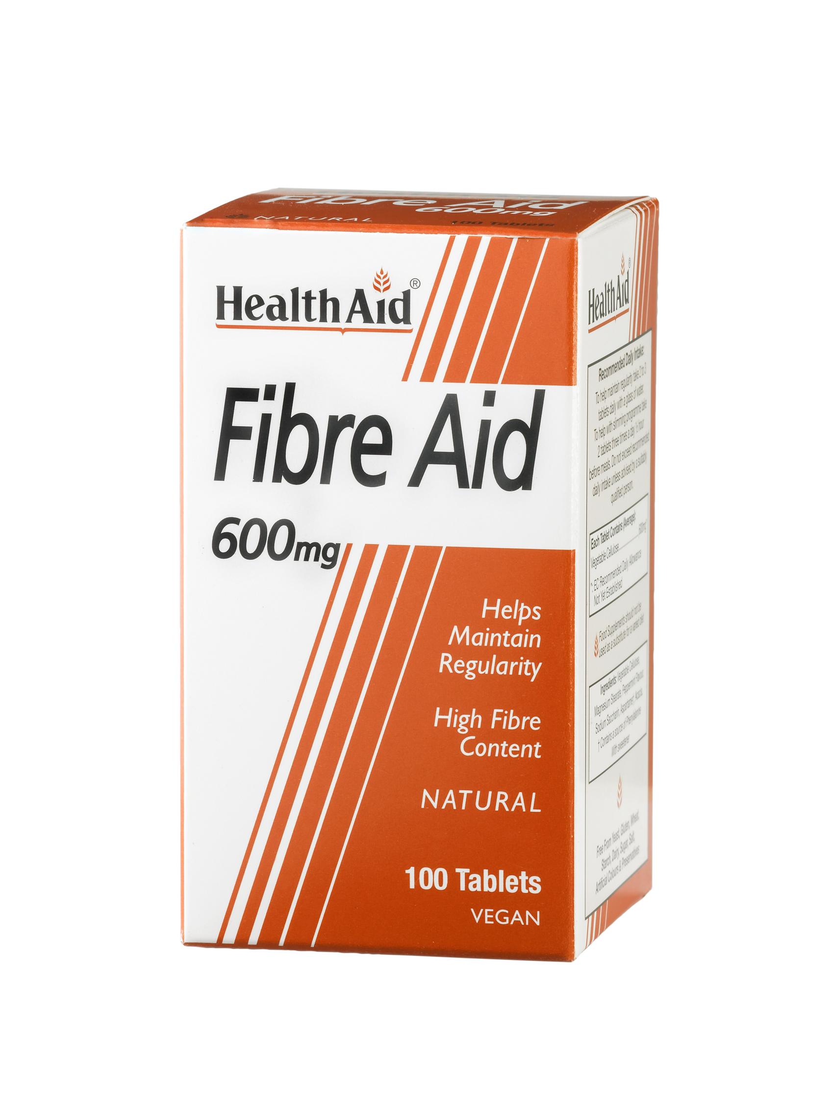 Fibre Aid 600mg  100's