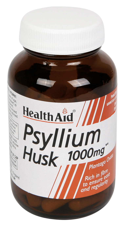 Psyllium Husk 1000mg 60's