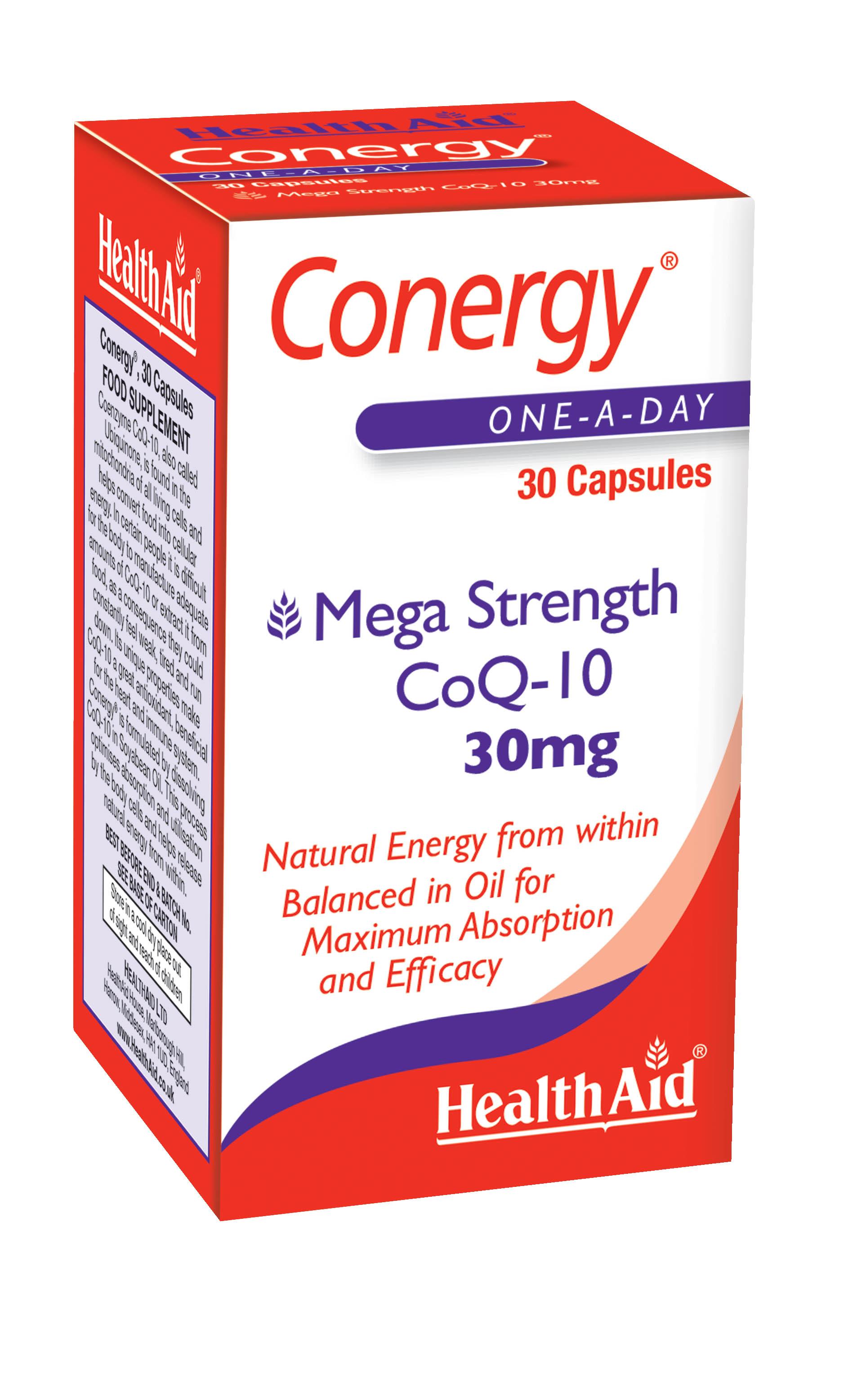 Conergy CoQ10 30mg 30's