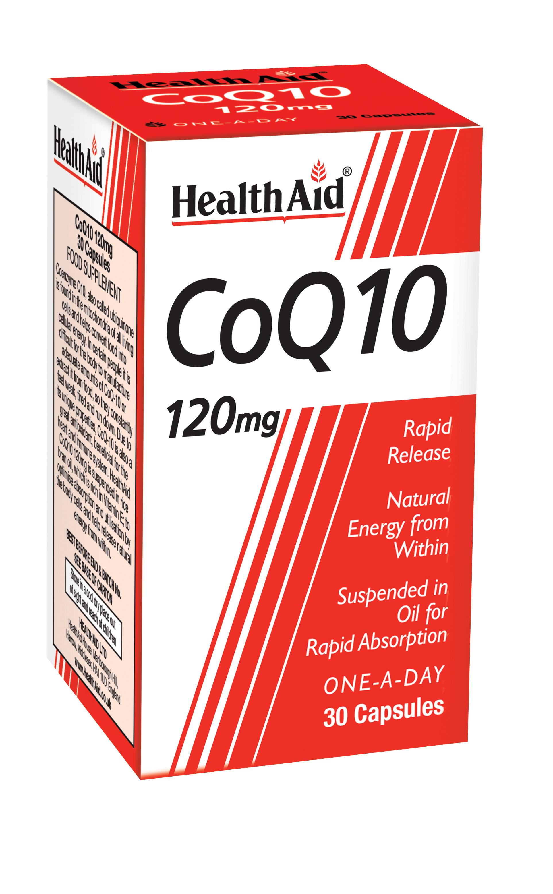 CoQ10 Ubiquinone 120mg 30's