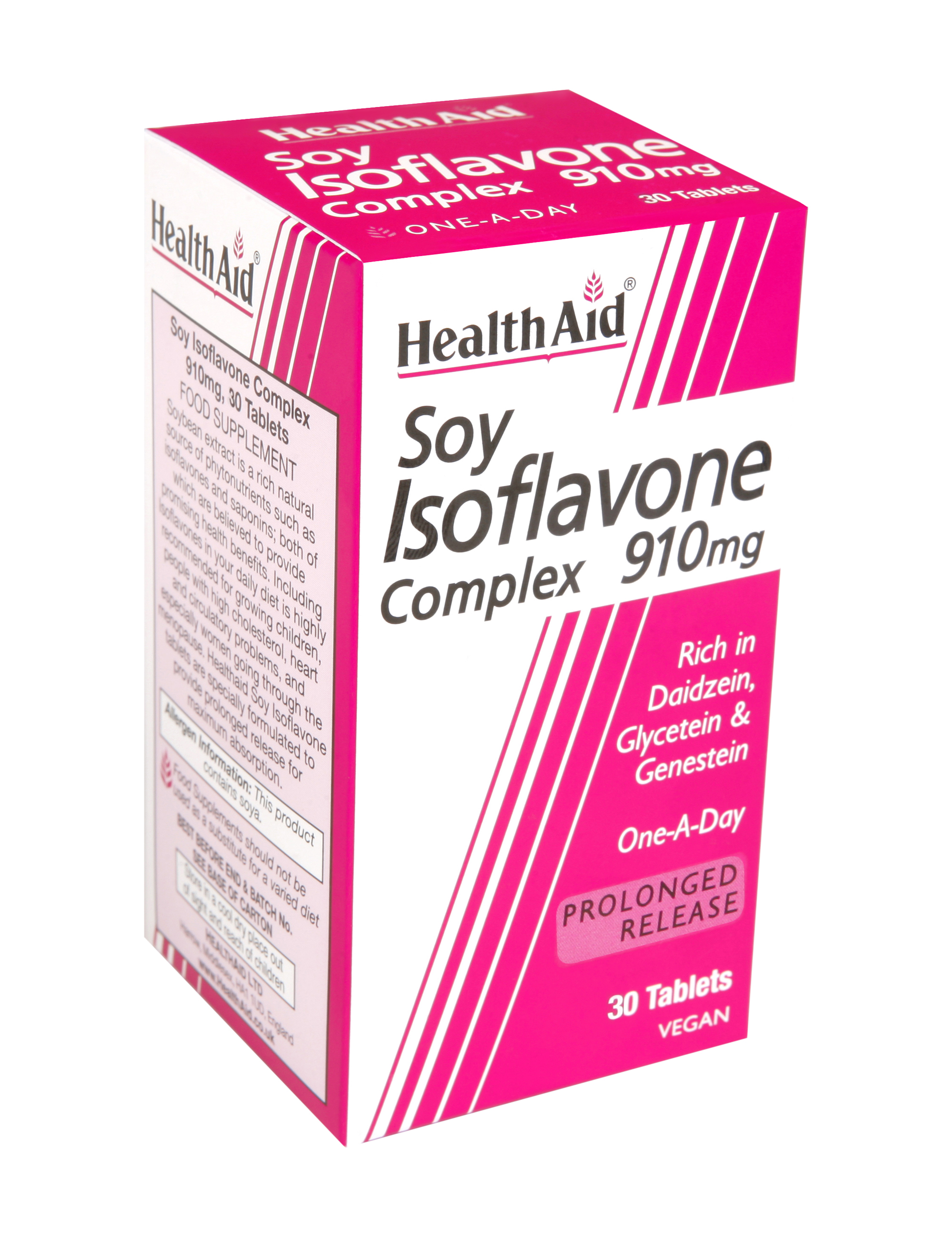 Soy Isoflavone Complex 910mg 30's