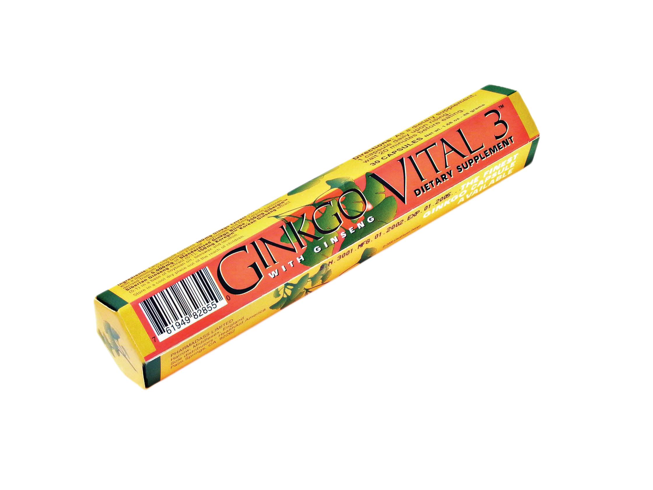 Ginkgo Vital 3 30's