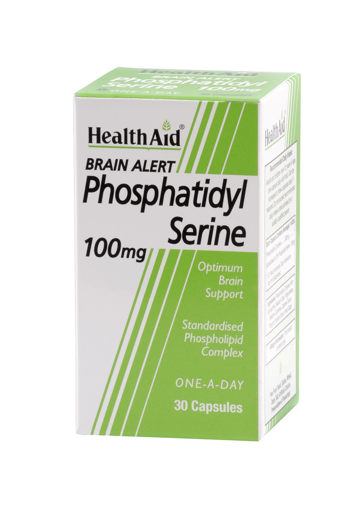 Brain Alert Phosphatidyl Serine 100mg 30's