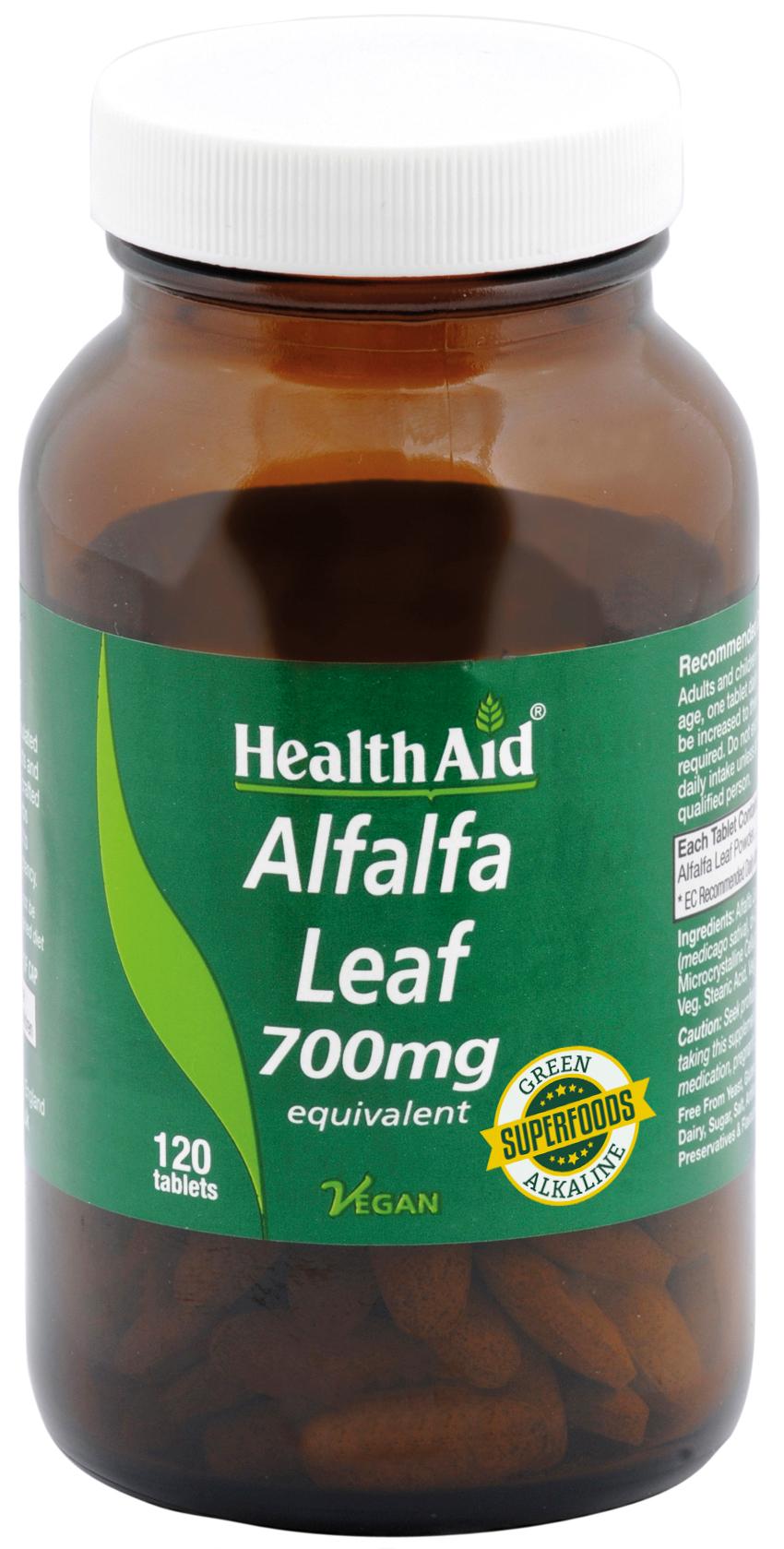 Alfalfa 700mg 120's
