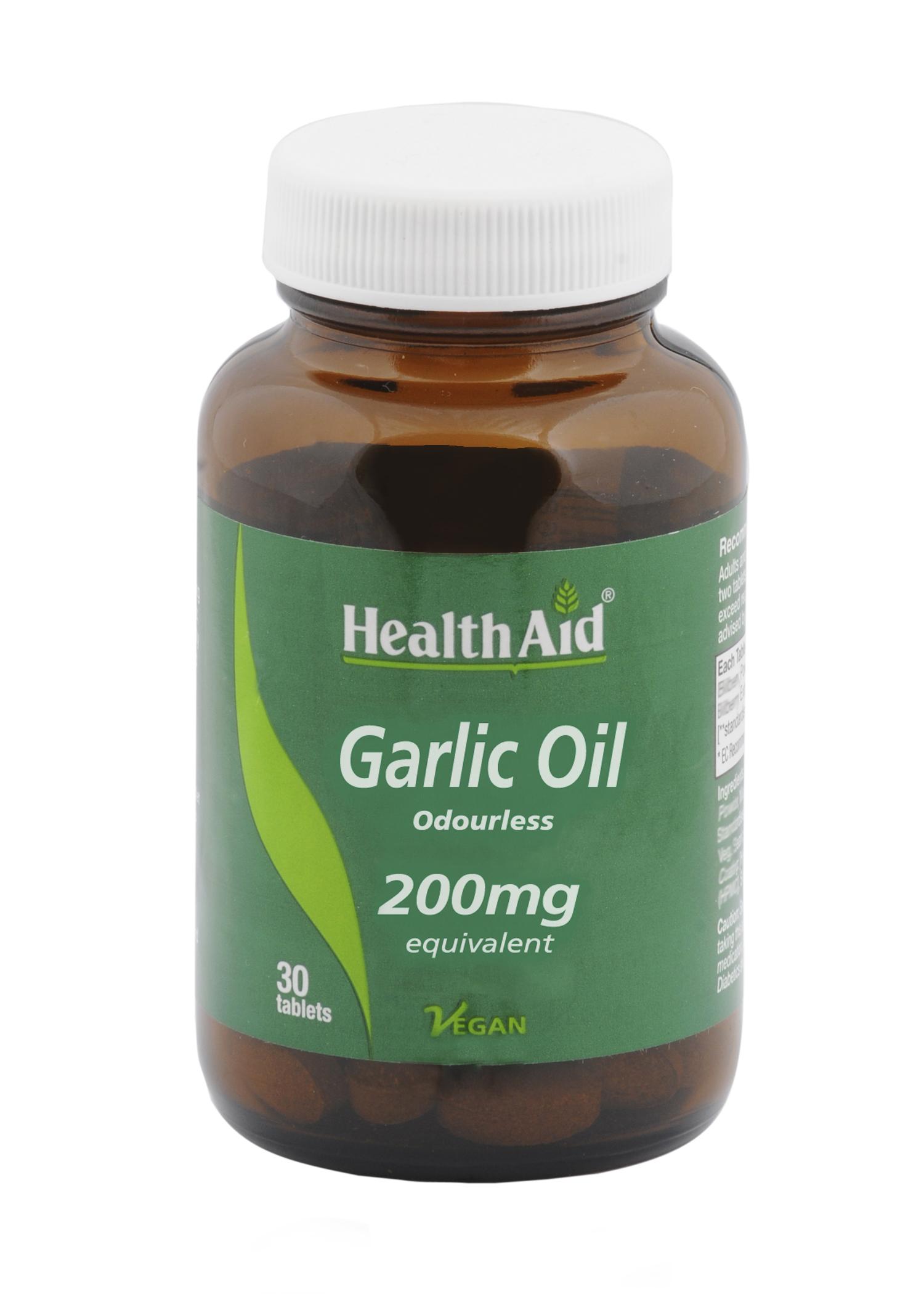 Garlic Oil 200mg 30's