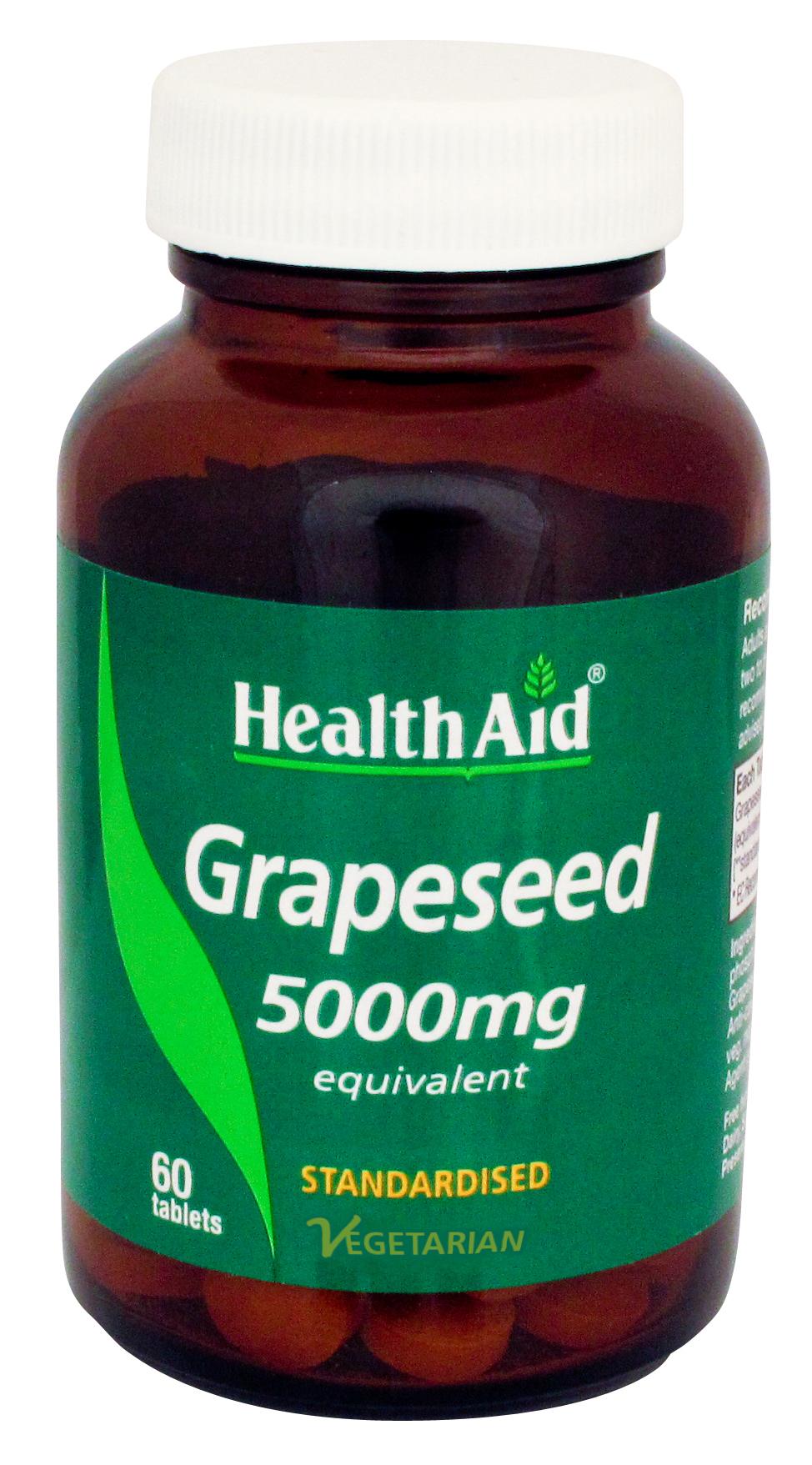 Grapeseed 5000mg 60's