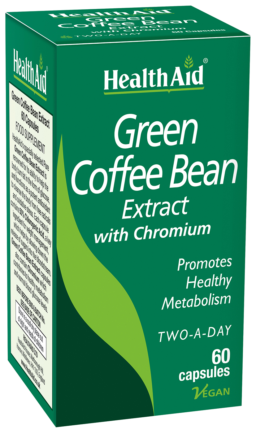 Green Coffee Bean Extract 60's